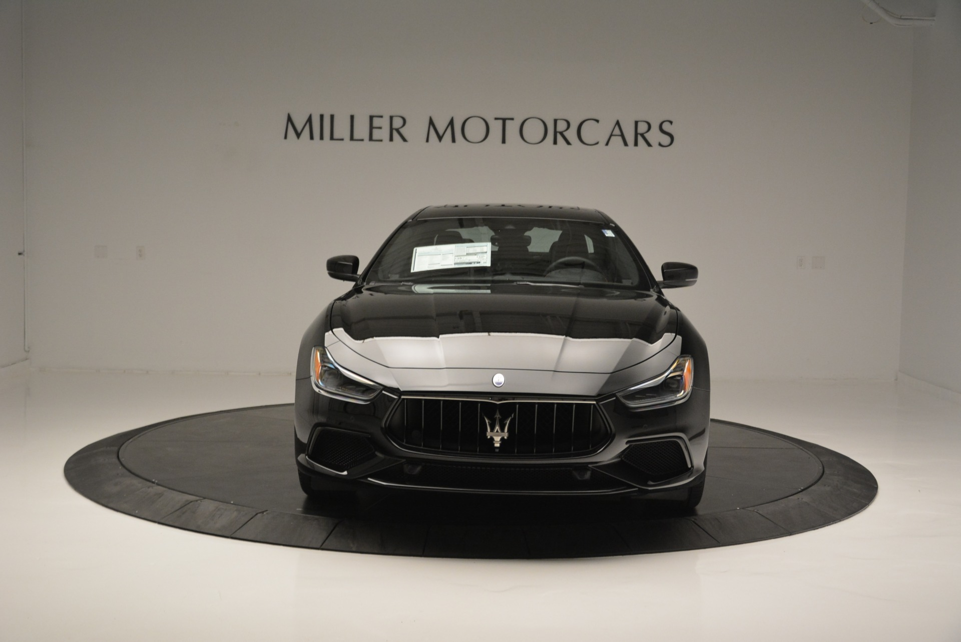 New 2018 Maserati Ghibli SQ4 GranSport Nerissimo For Sale In Westport, CT 2366_p12