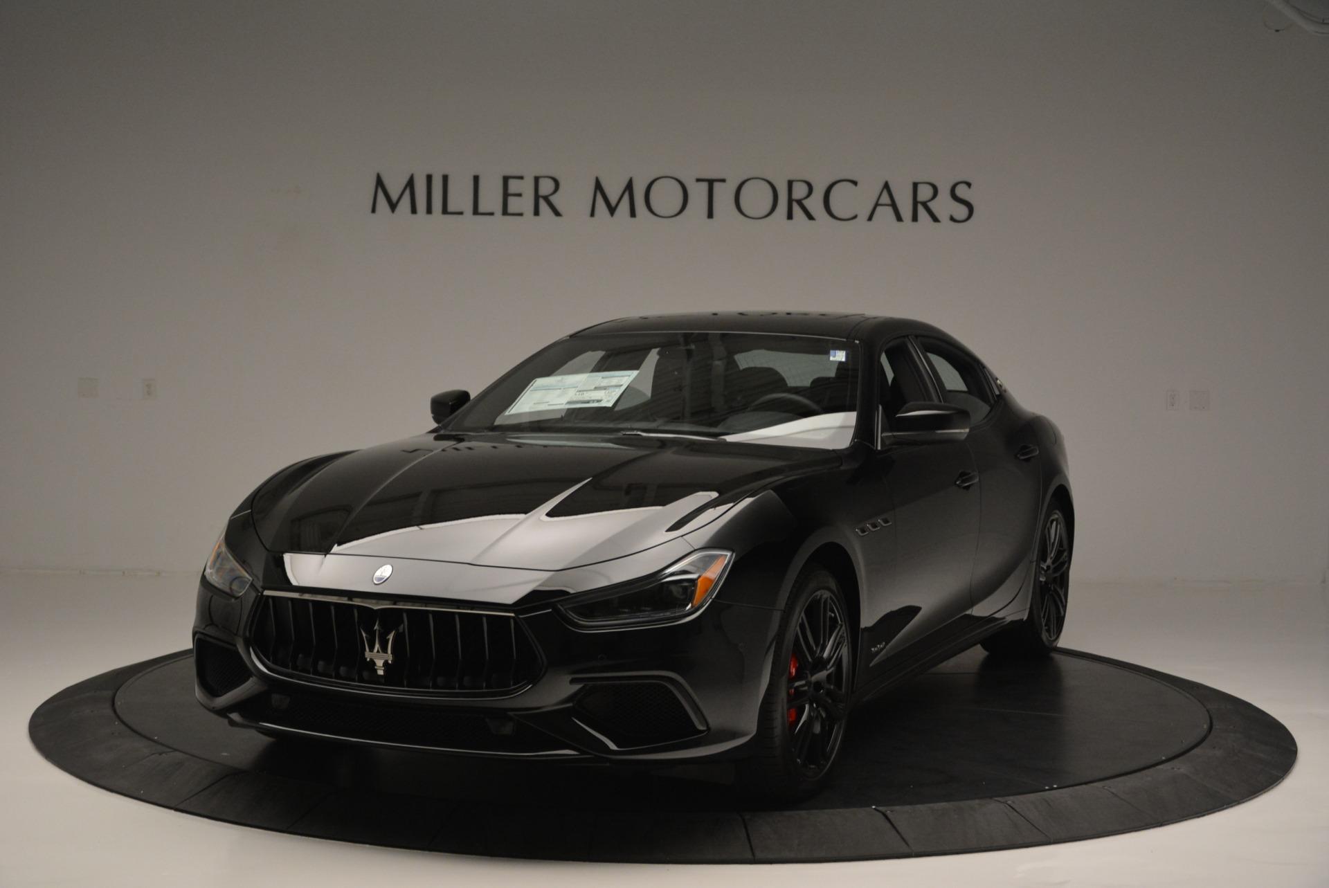 New 2018 Maserati Ghibli SQ4 GranSport Nerissimo For Sale In Westport, CT 2368_main