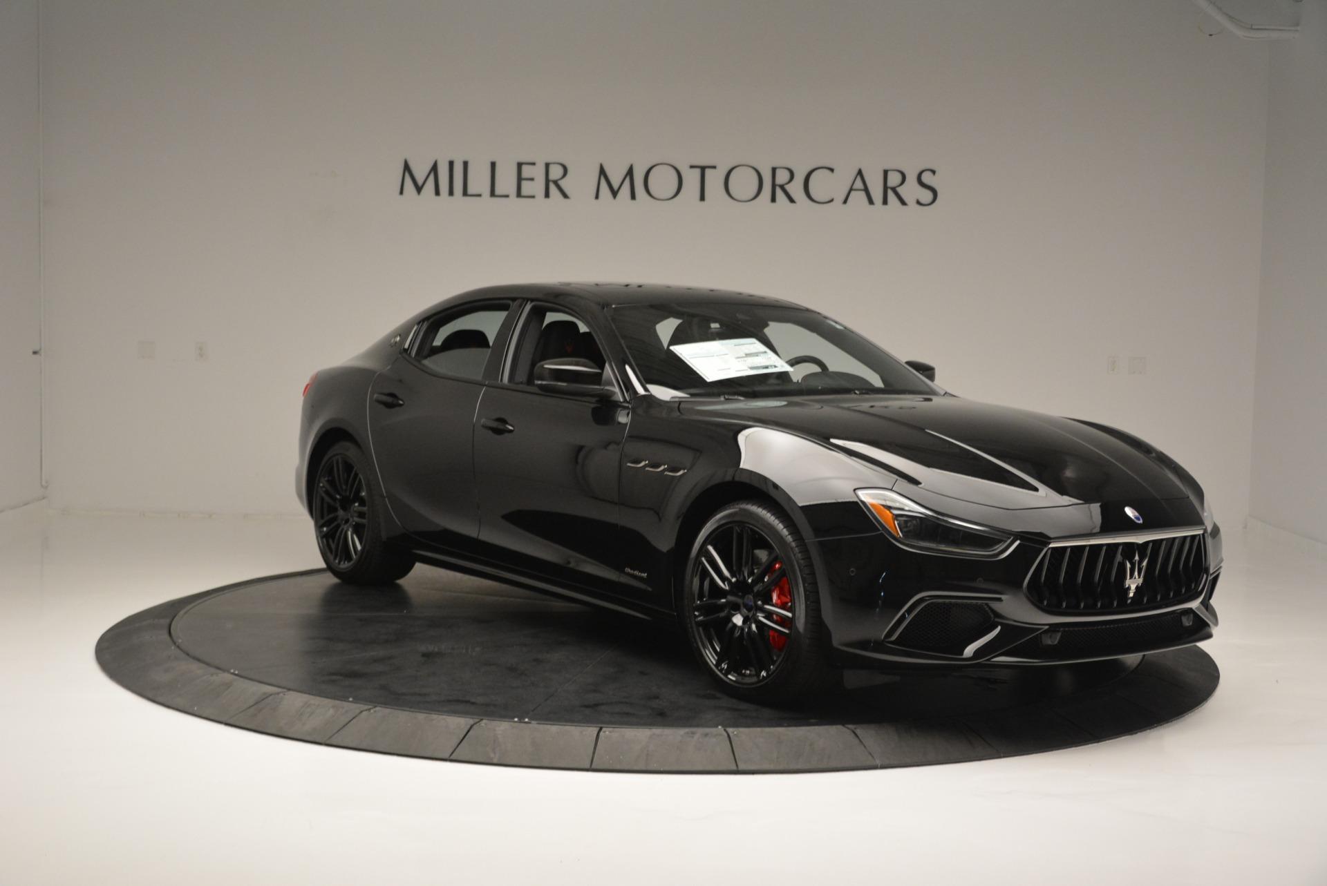 New 2018 Maserati Ghibli SQ4 GranSport Nerissimo For Sale In Westport, CT 2368_p11