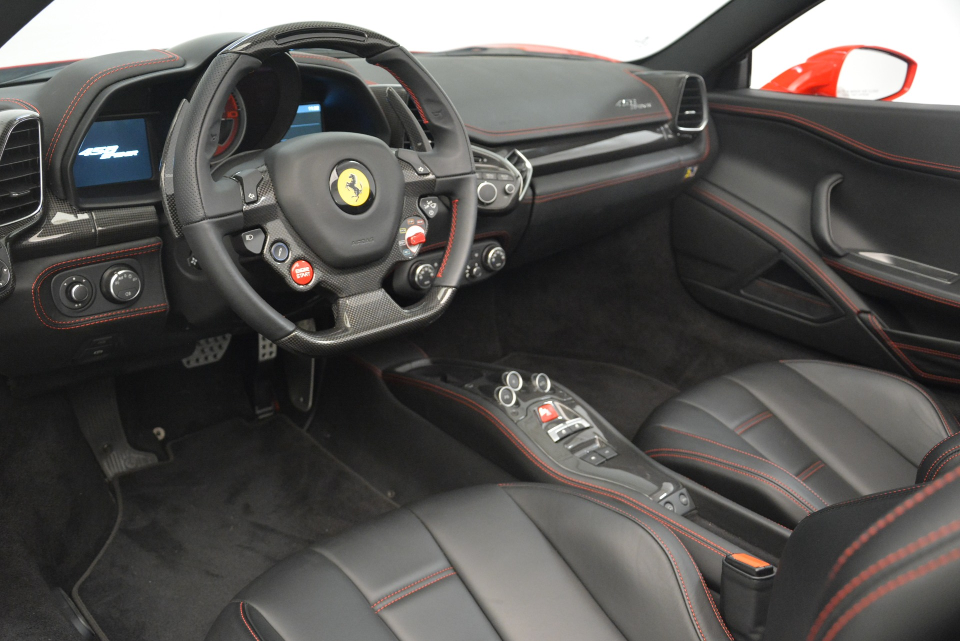 Used 2015 Ferrari 458 Spider  For Sale In Westport, CT 2369_p26