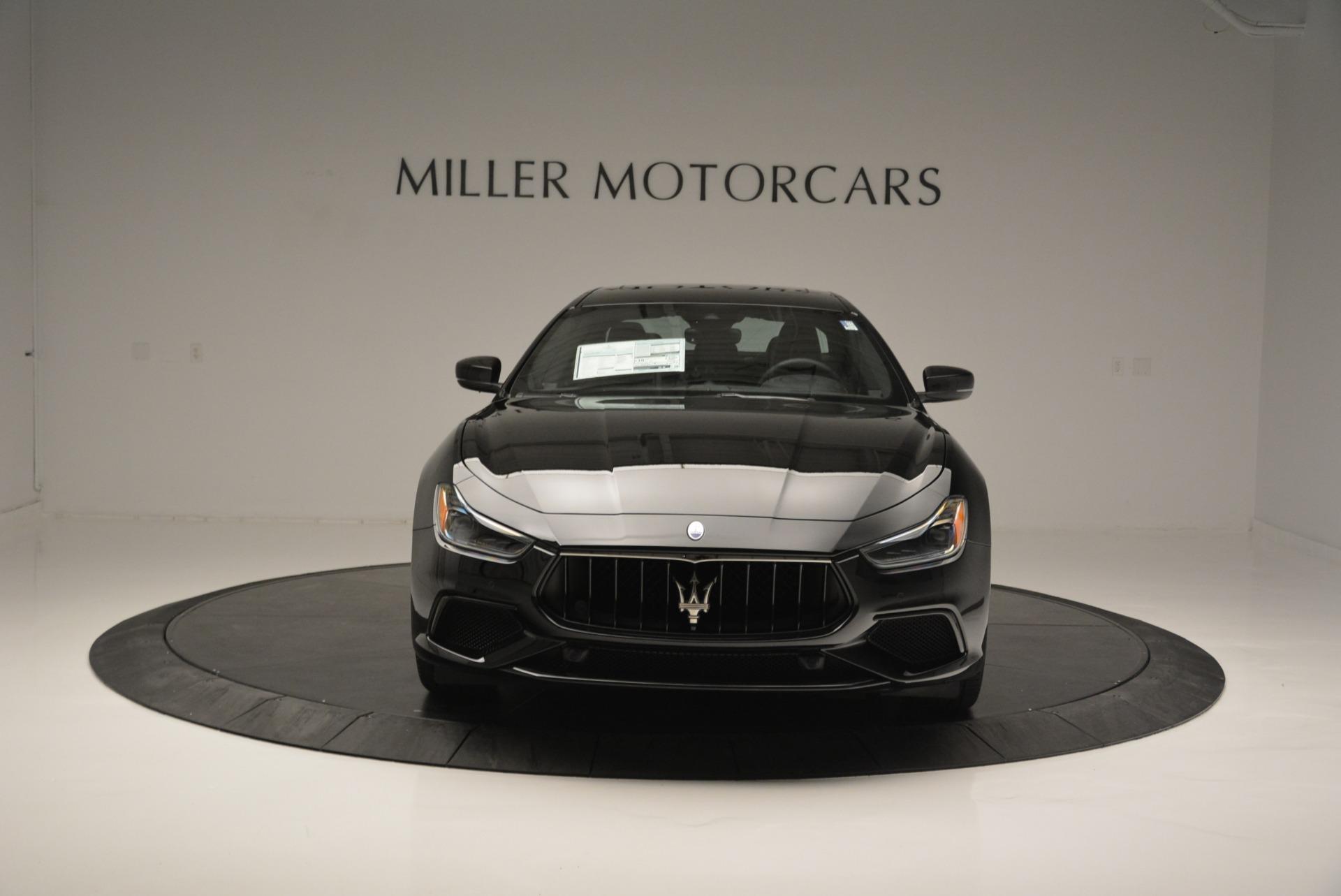 New 2018 Maserati Ghibli SQ4 GranSport Nerissimo For Sale In Westport, CT 2372_p12