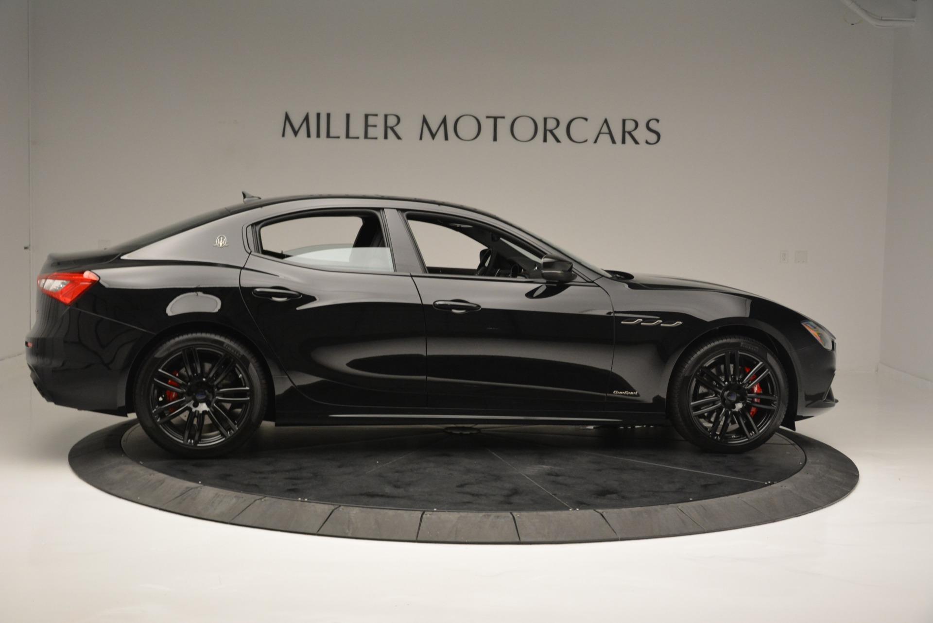 New 2018 Maserati Ghibli SQ4 GranSport Nerissimo For Sale In Westport, CT 2372_p9