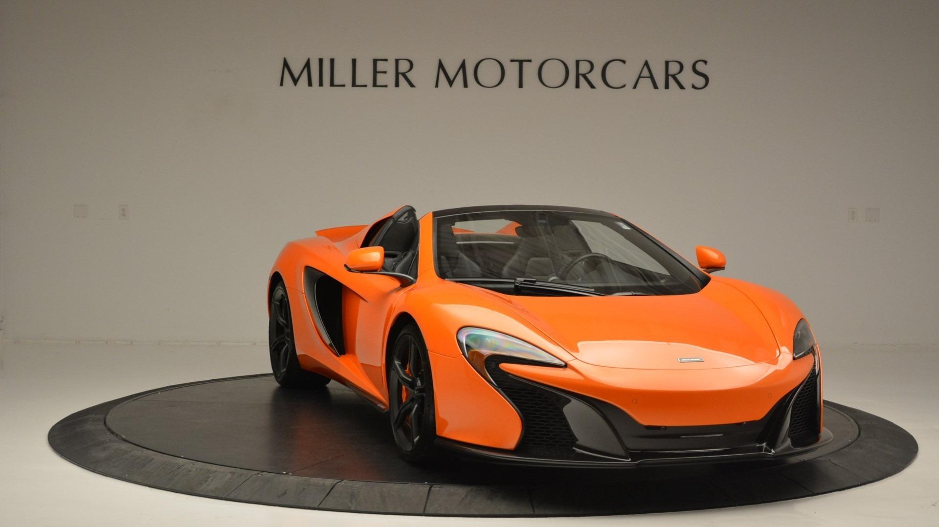 Used 2015 McLaren 650S Spider Convertible For Sale In Westport, CT 2375_p11