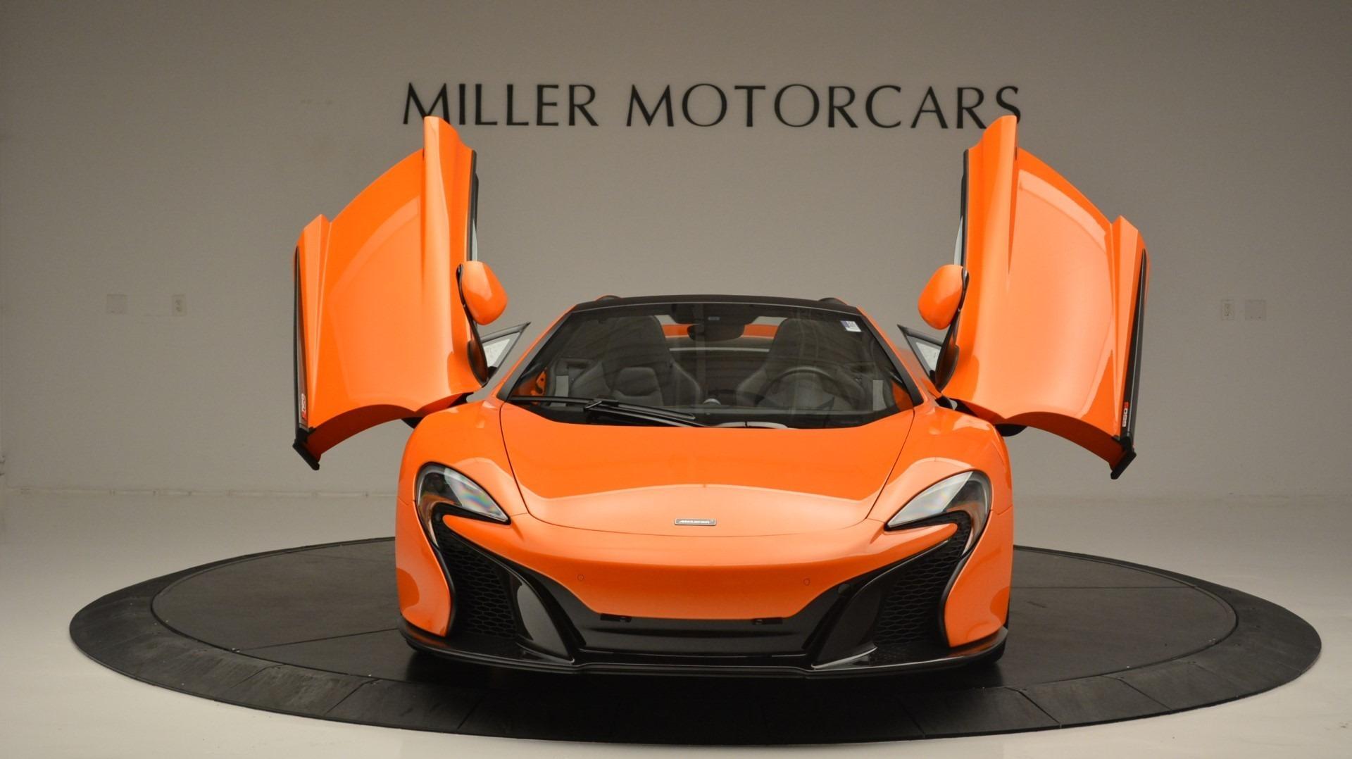 Used 2015 McLaren 650S Spider Convertible For Sale In Westport, CT 2375_p13