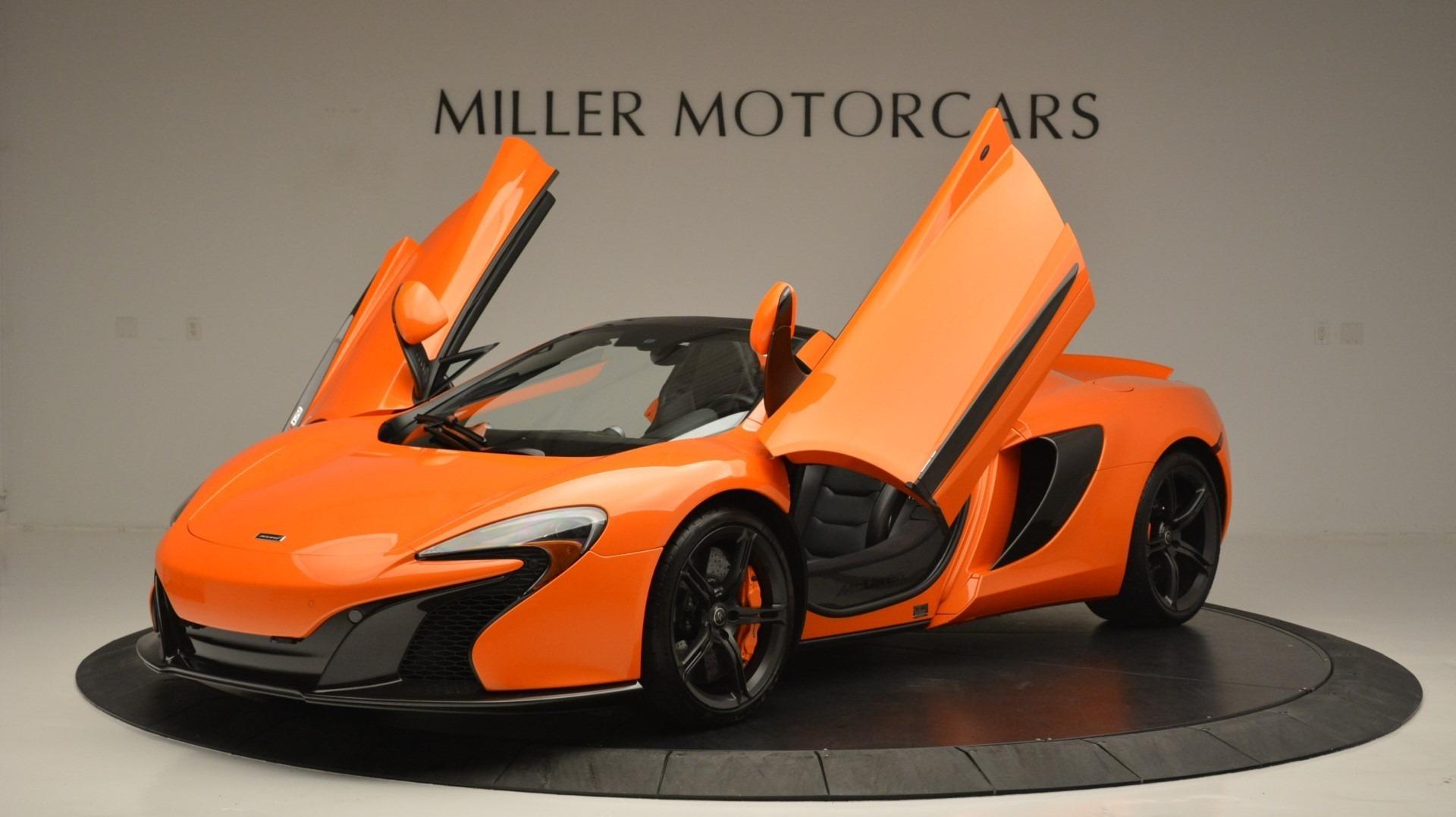 Used 2015 McLaren 650S Spider Convertible For Sale In Westport, CT 2375_p14