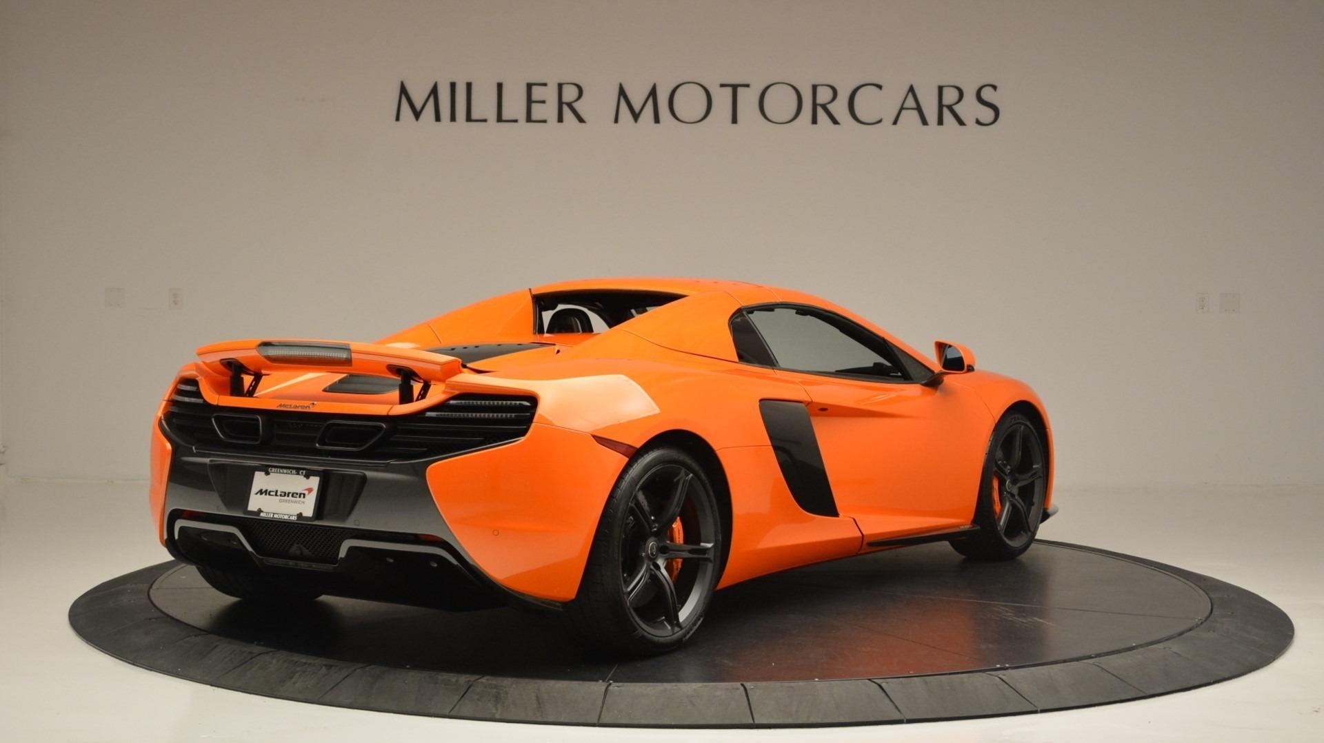 Used 2015 McLaren 650S Spider Convertible For Sale In Westport, CT 2375_p19