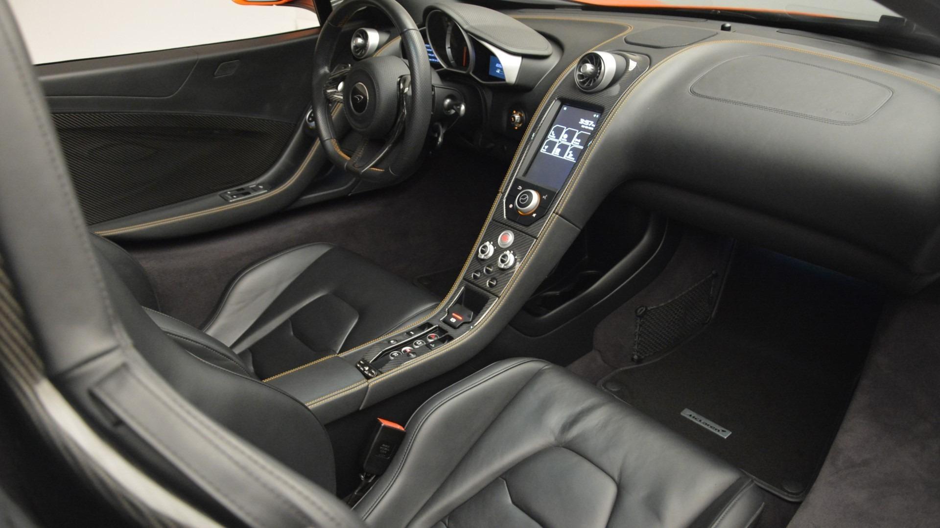 Used 2015 McLaren 650S Spider Convertible For Sale In Westport, CT 2375_p24