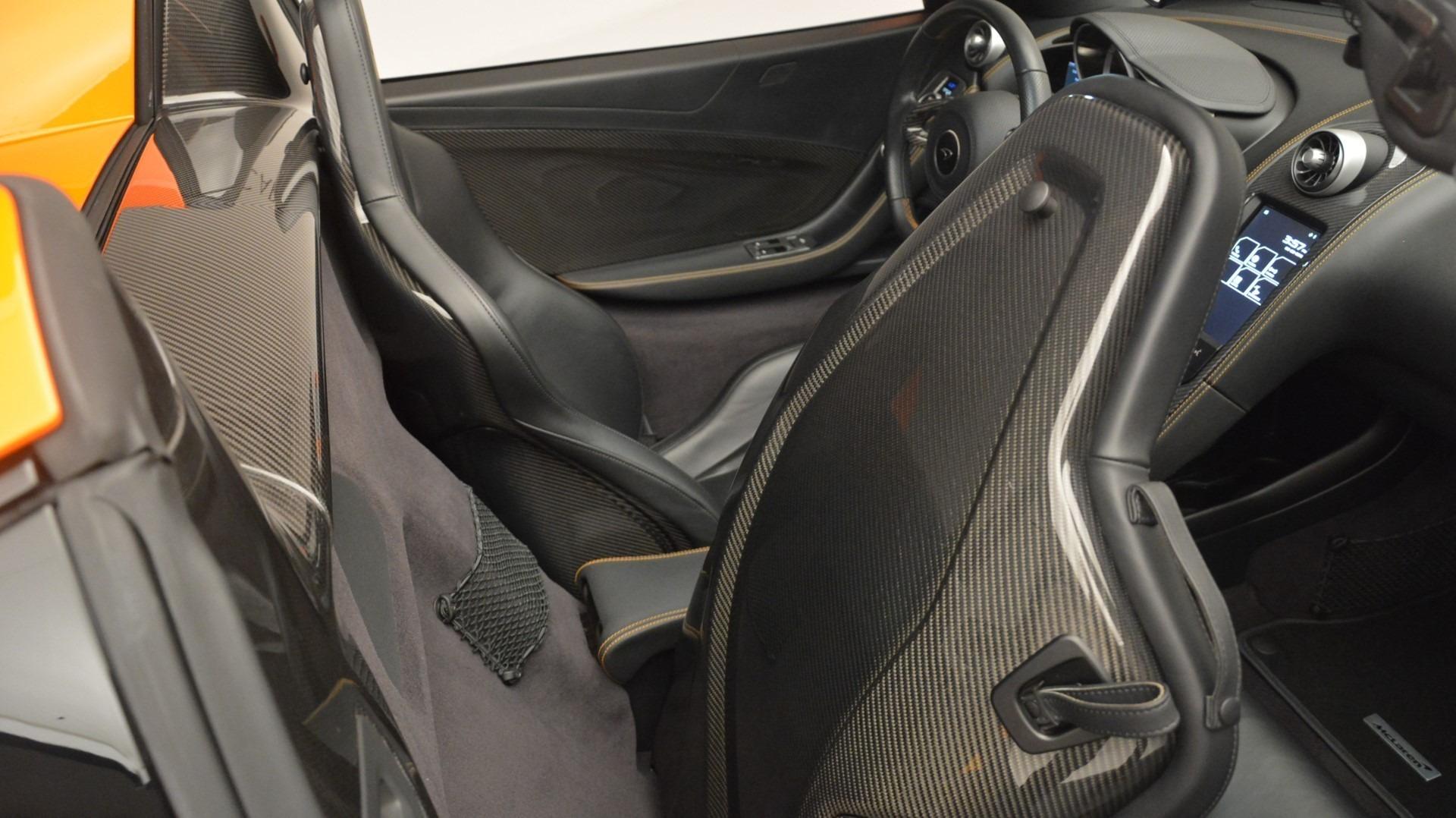 Used 2015 McLaren 650S Spider Convertible For Sale In Westport, CT 2375_p25