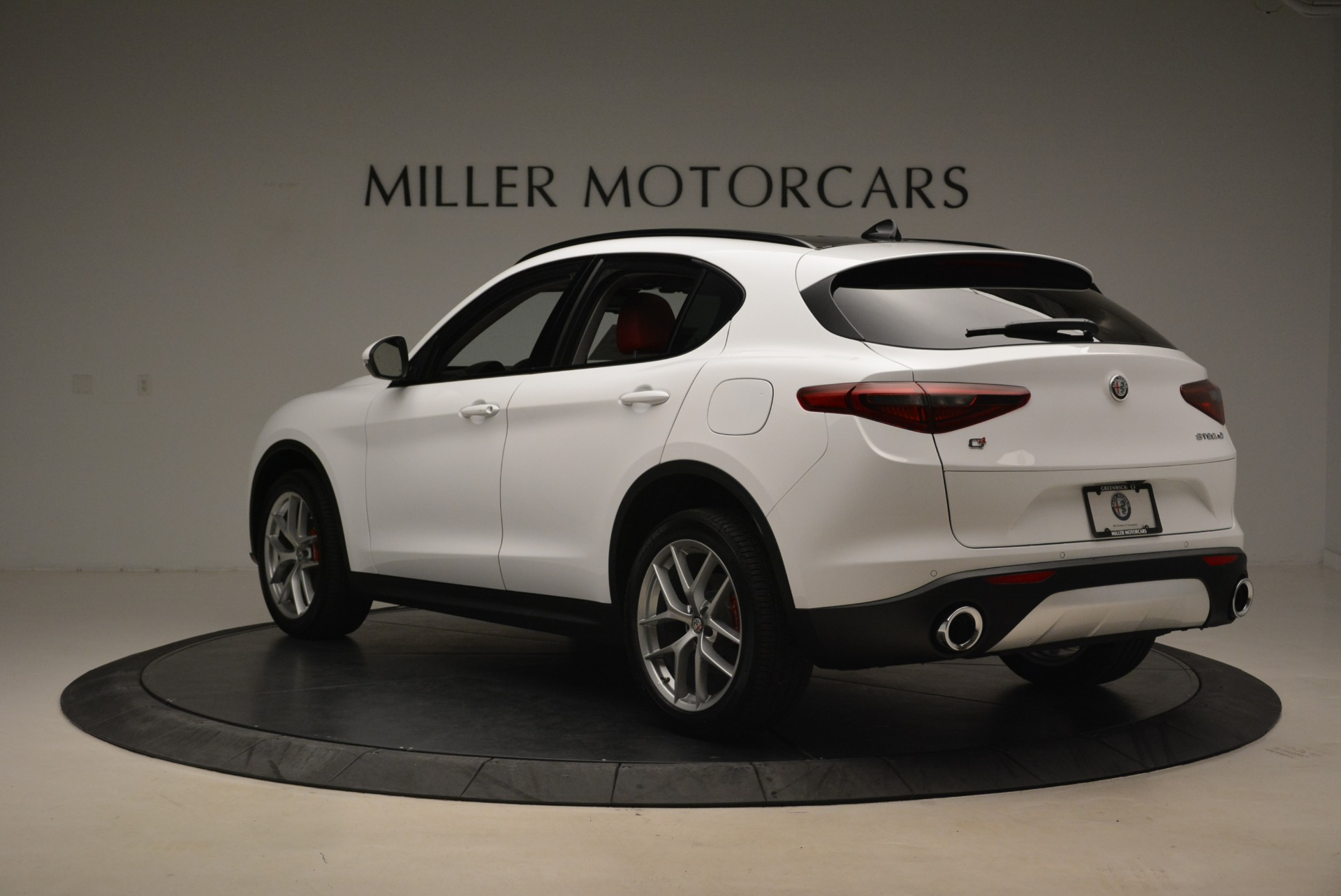 New 2018 Alfa Romeo Stelvio Ti Sport Q4 For Sale In Westport, CT 2381_p5