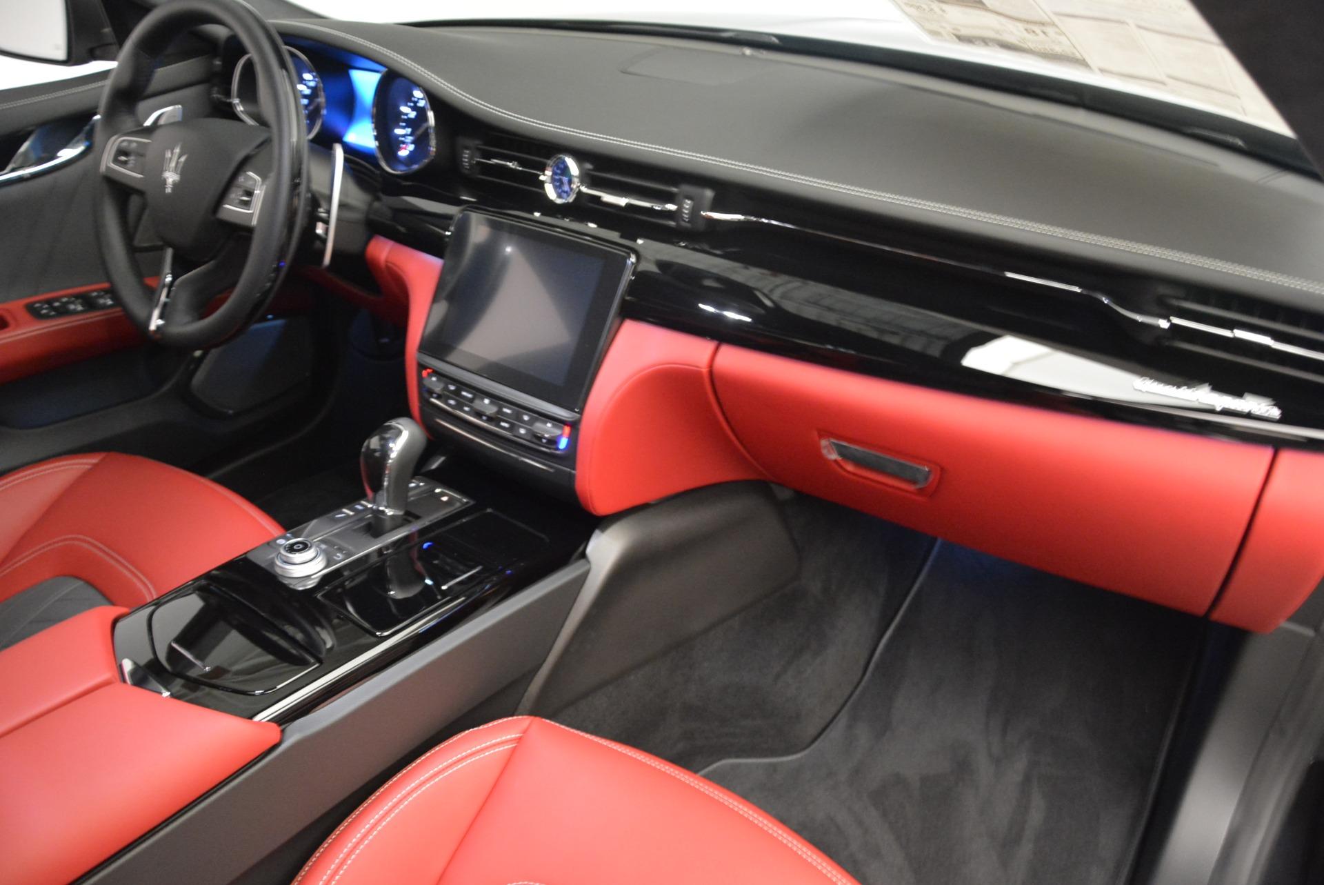 New 2018 Maserati Quattroporte S Q4 GranLusso For Sale In Westport, CT 2390_p20
