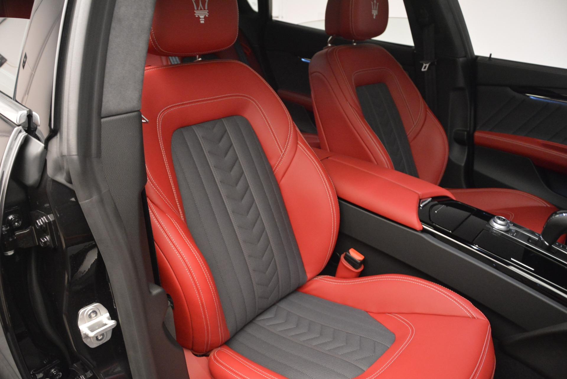 New 2018 Maserati Quattroporte S Q4 GranLusso For Sale In Westport, CT 2390_p22