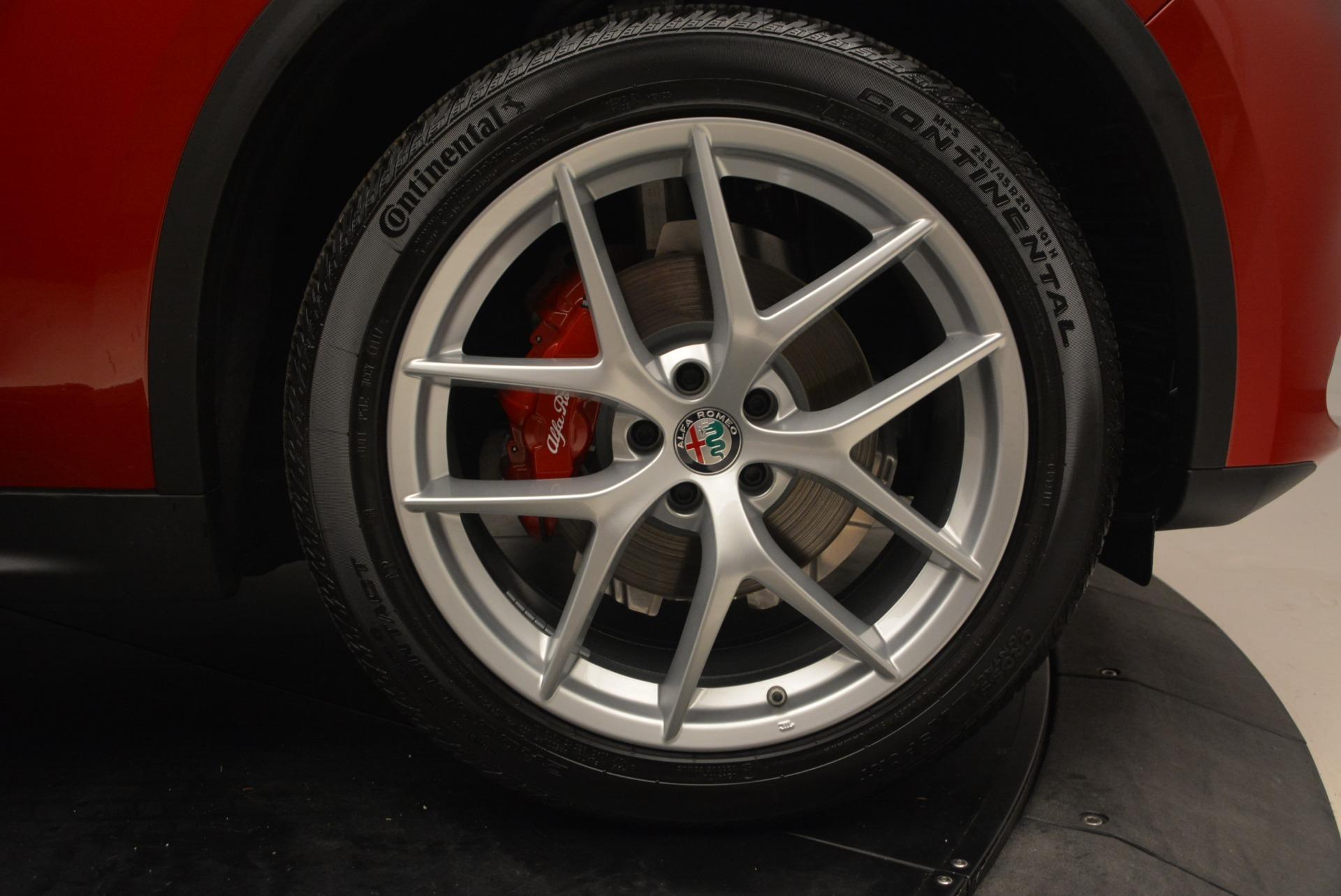 New 2018 Alfa Romeo Stelvio Ti Sport Q4 For Sale In Westport, CT 2407_p13