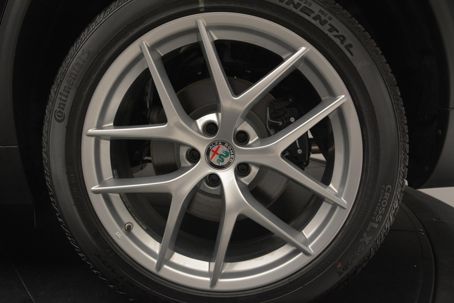 New 2018 Alfa Romeo Stelvio Ti Sport Q4 For Sale In Westport, CT 2408_p31