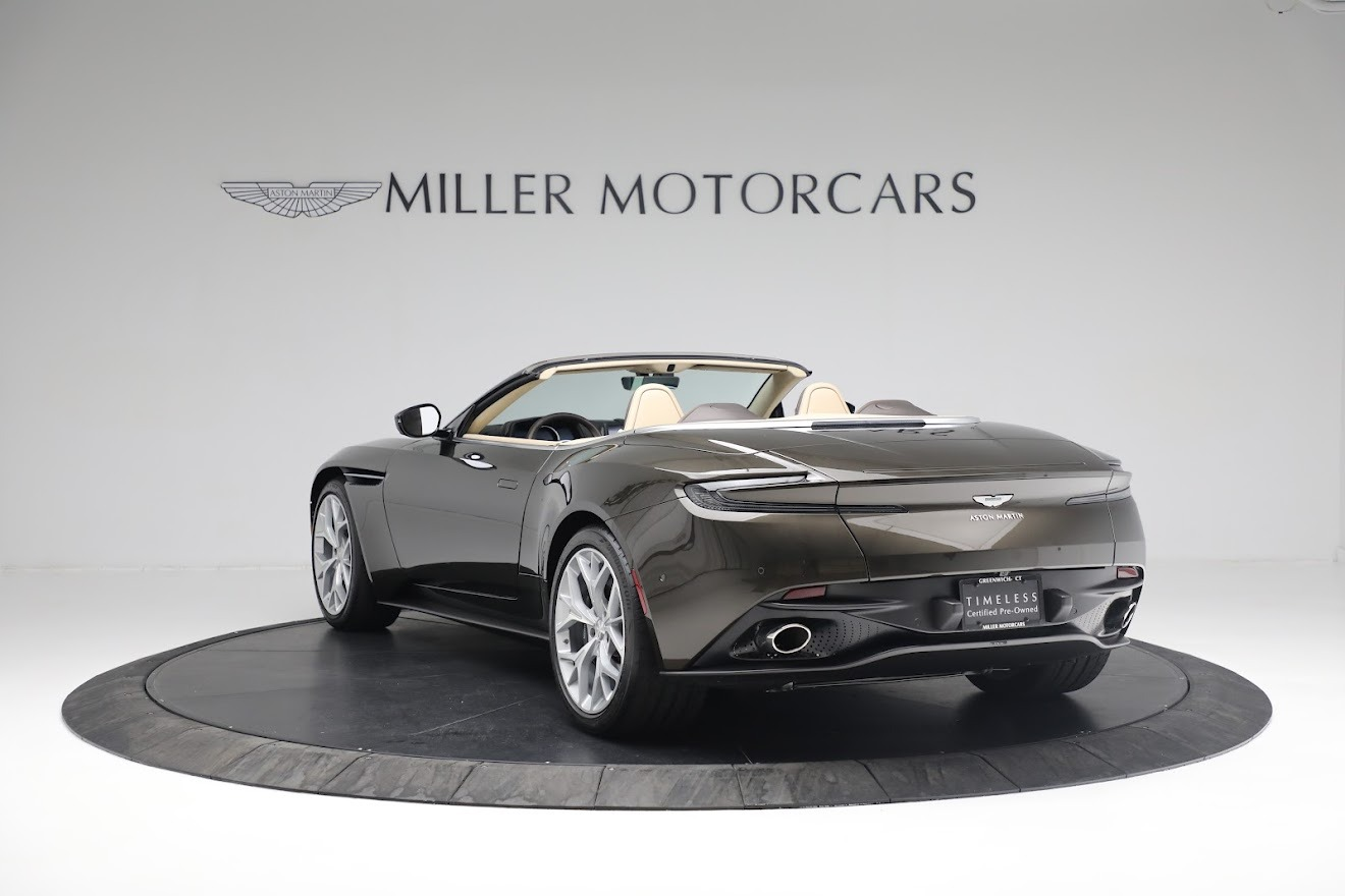 New 2019 Aston Martin DB11 V8 Convertible For Sale In Westport, CT 2410_p4