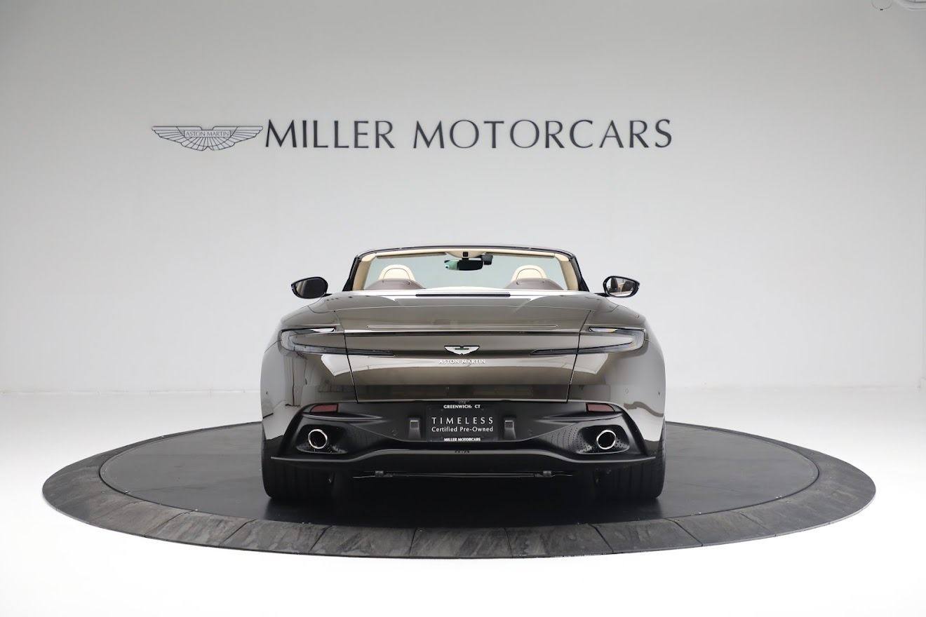 New 2019 Aston Martin DB11 V8 Convertible For Sale In Westport, CT 2410_p5