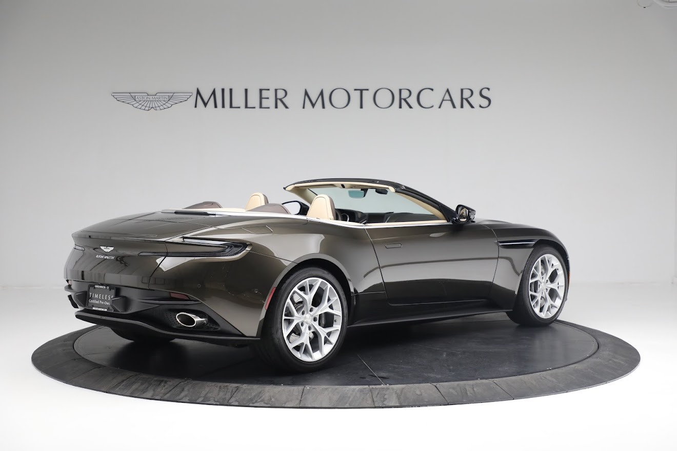 New 2019 Aston Martin DB11 V8 Convertible For Sale In Westport, CT 2410_p7