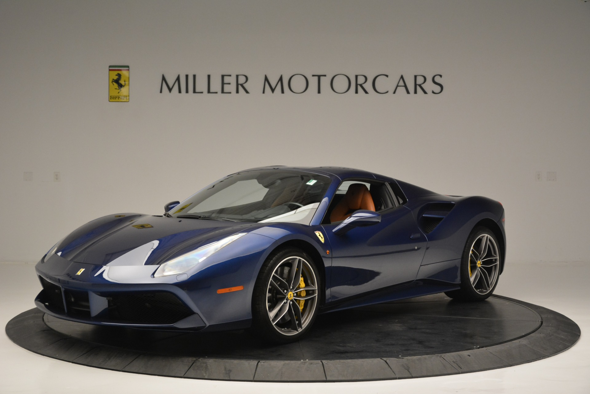 Used 2016 Ferrari 488 Spider  For Sale In Westport, CT 2411_p13