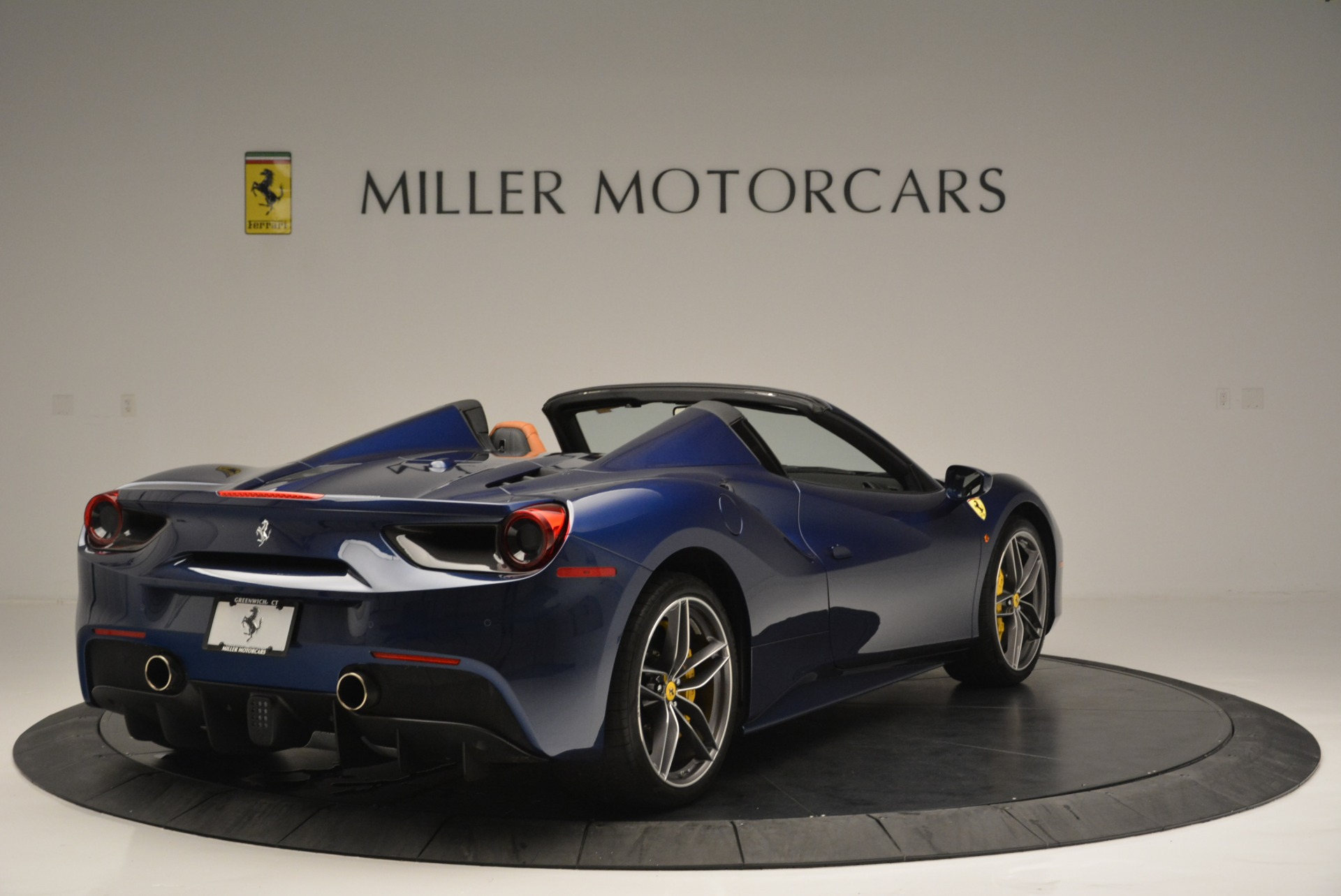 Used 2016 Ferrari 488 Spider  For Sale In Westport, CT 2411_p7