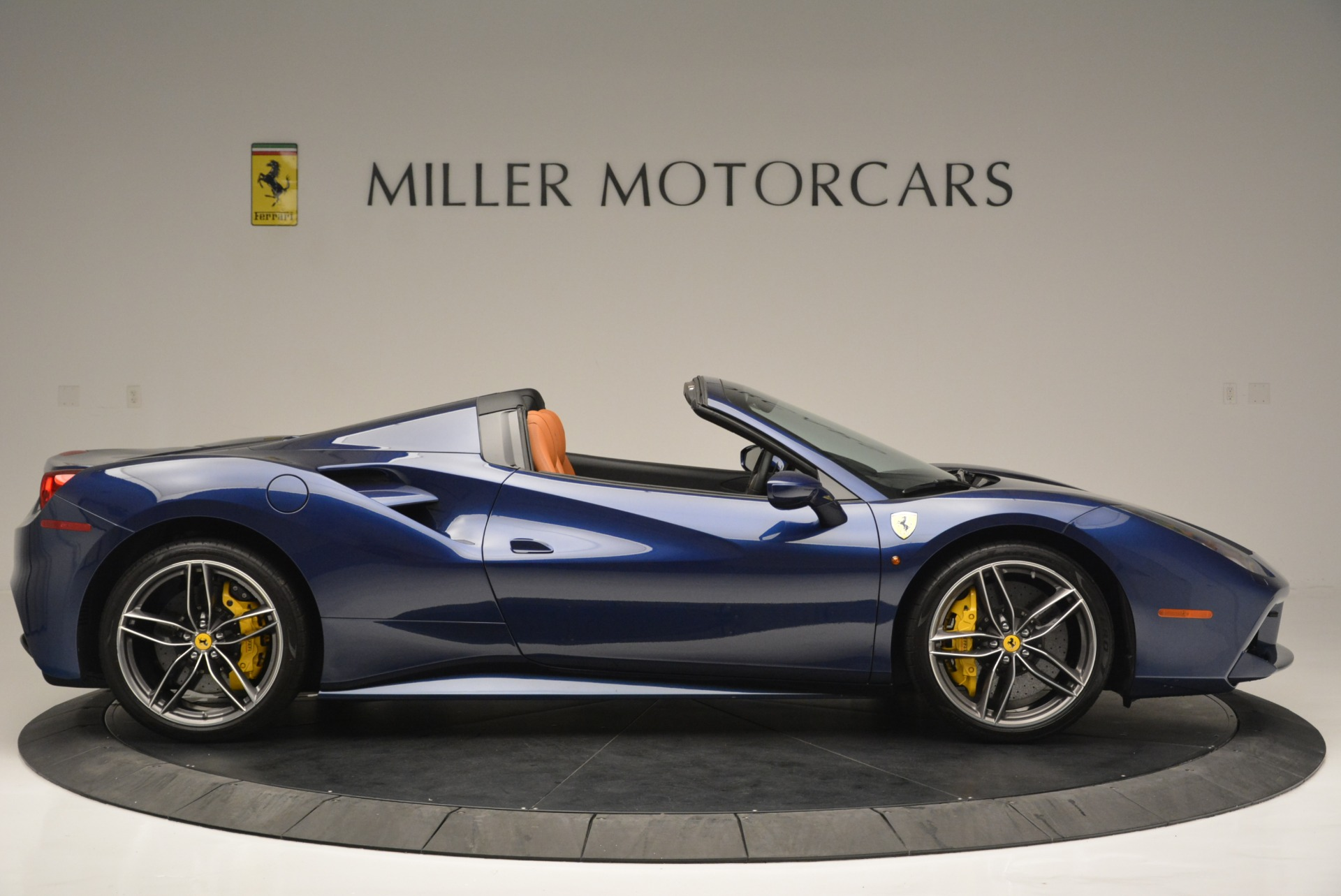 Used 2016 Ferrari 488 Spider  For Sale In Westport, CT 2411_p9