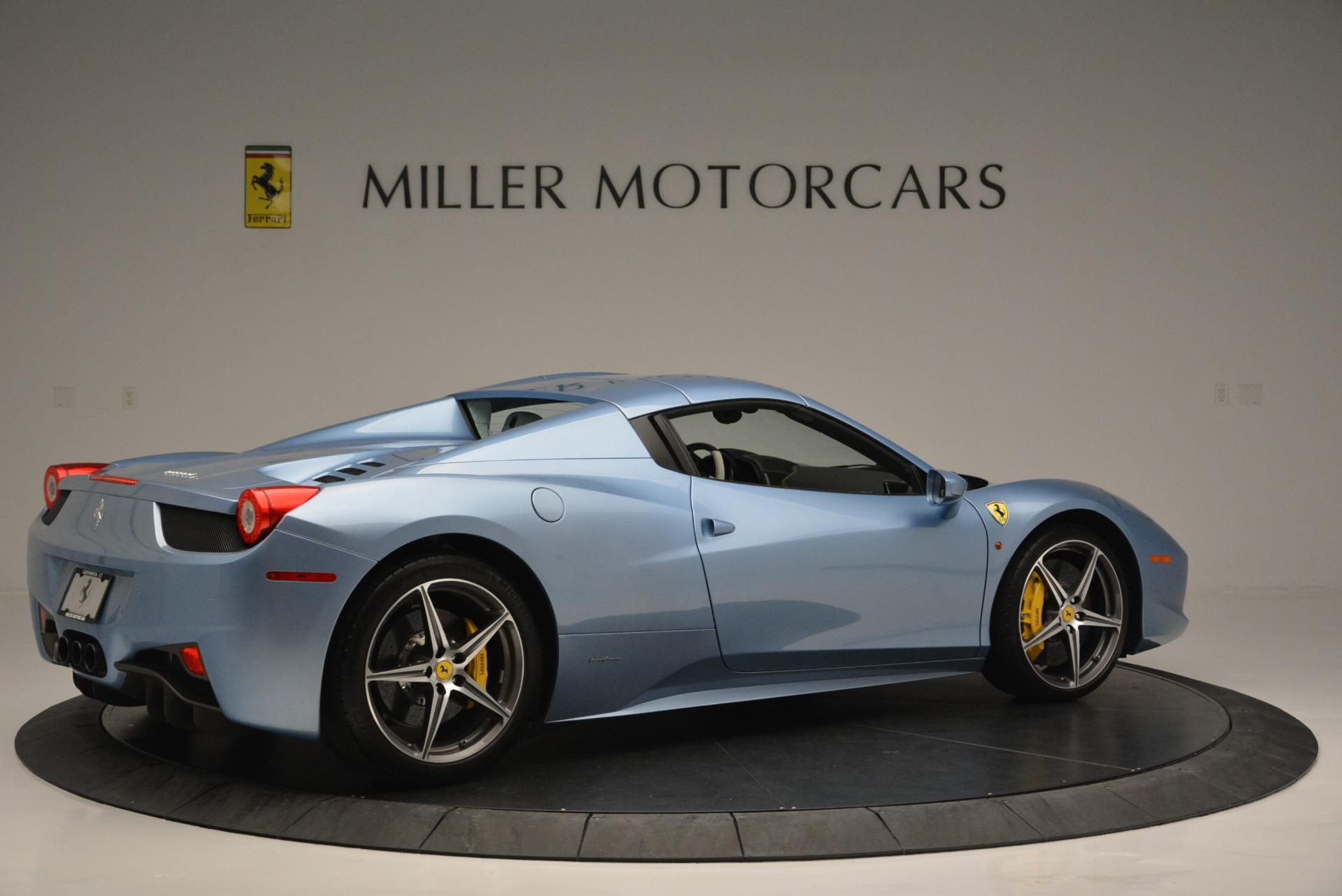Used 2012 Ferrari 458 Spider  For Sale In Westport, CT 2413_p20