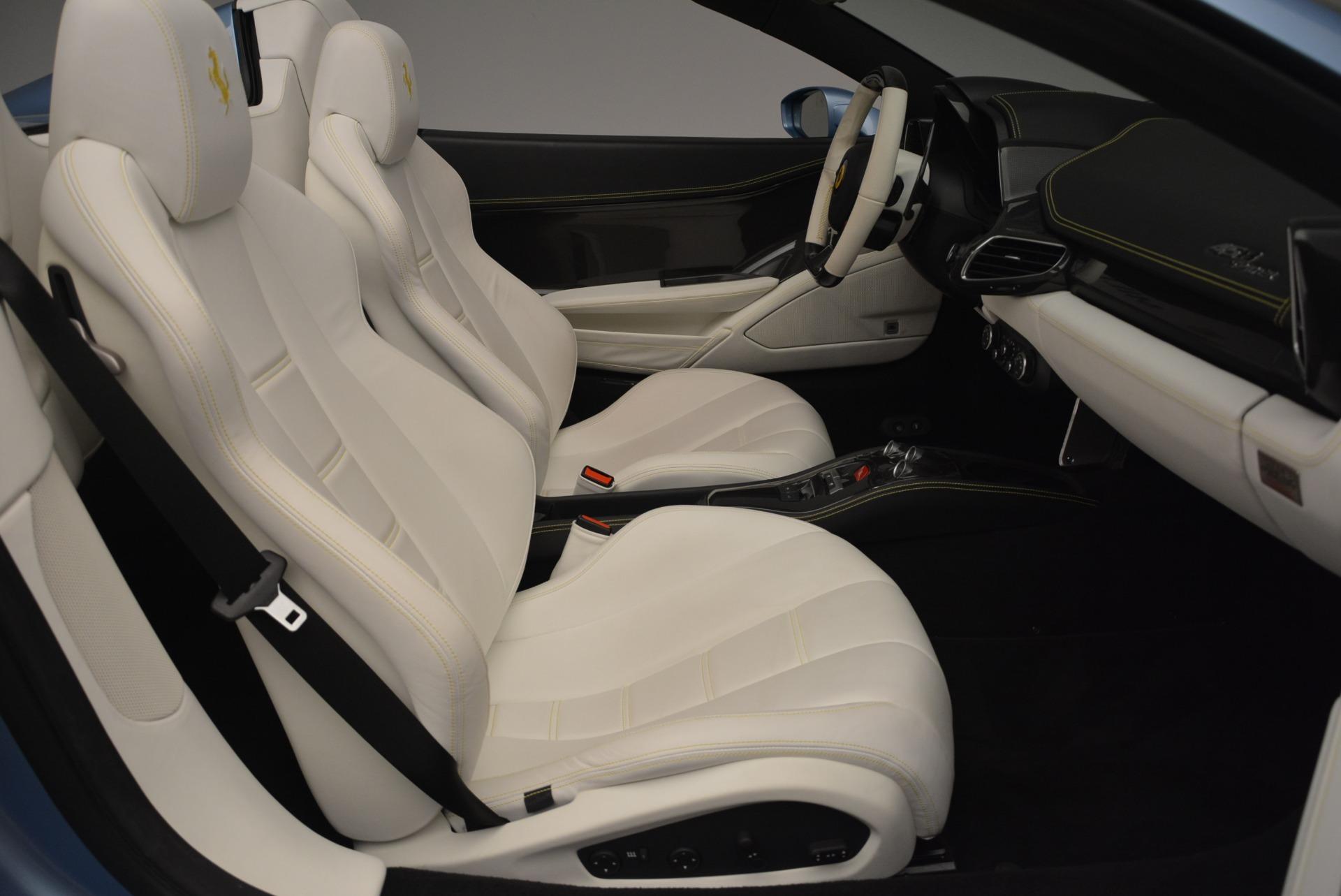 Used 2012 Ferrari 458 Spider  For Sale In Westport, CT 2413_p30