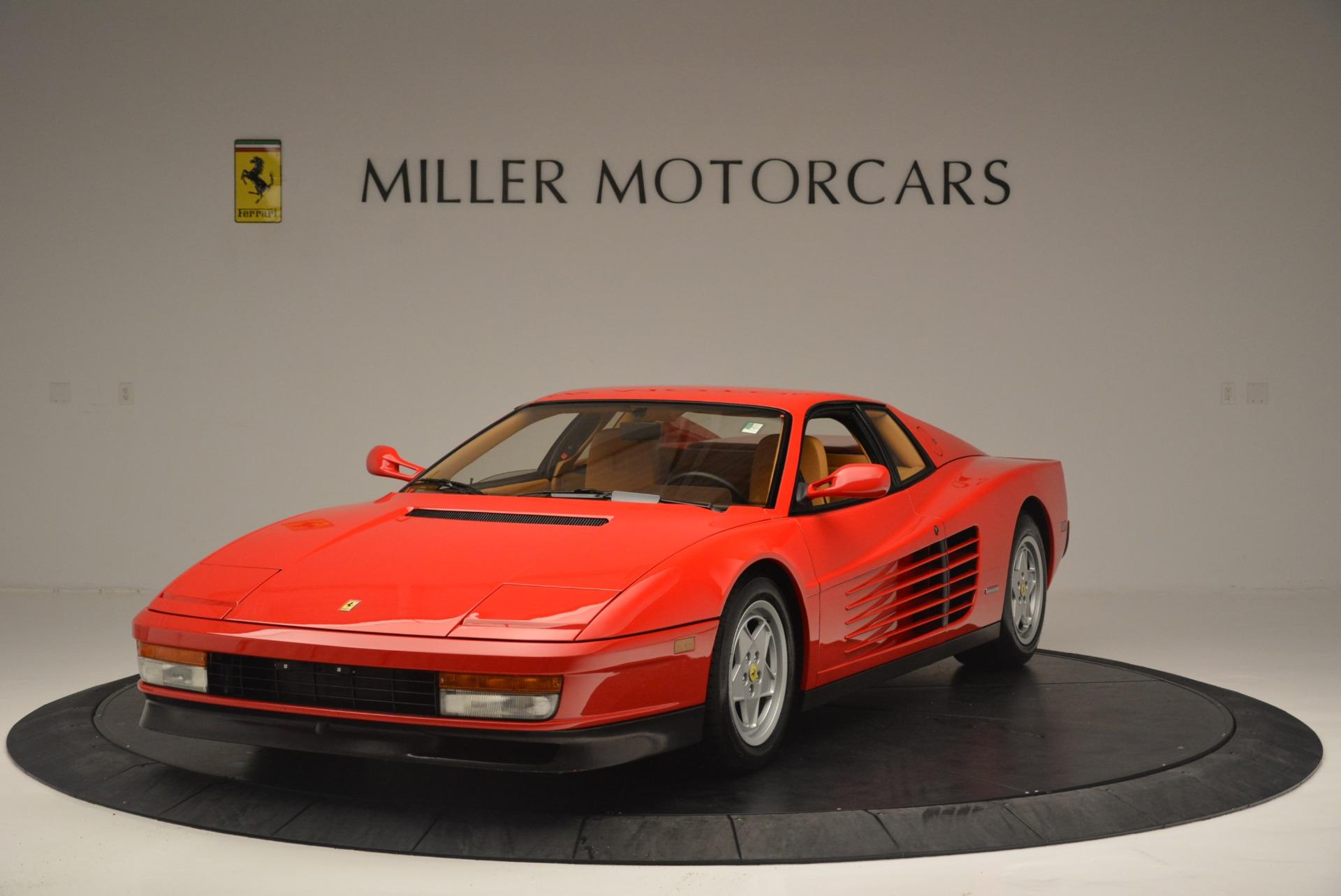 Used 1990 Ferrari Testarossa  For Sale In Westport, CT 2419_main