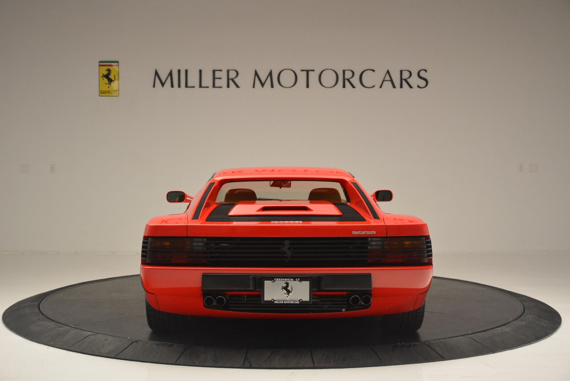 Used 1990 Ferrari Testarossa  For Sale In Westport, CT 2419_p6
