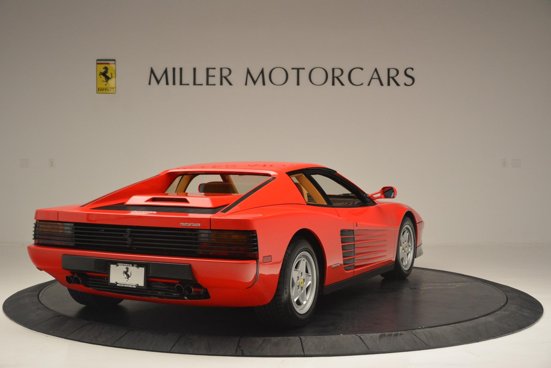 Used 1990 Ferrari Testarossa  For Sale In Westport, CT 2419_p7