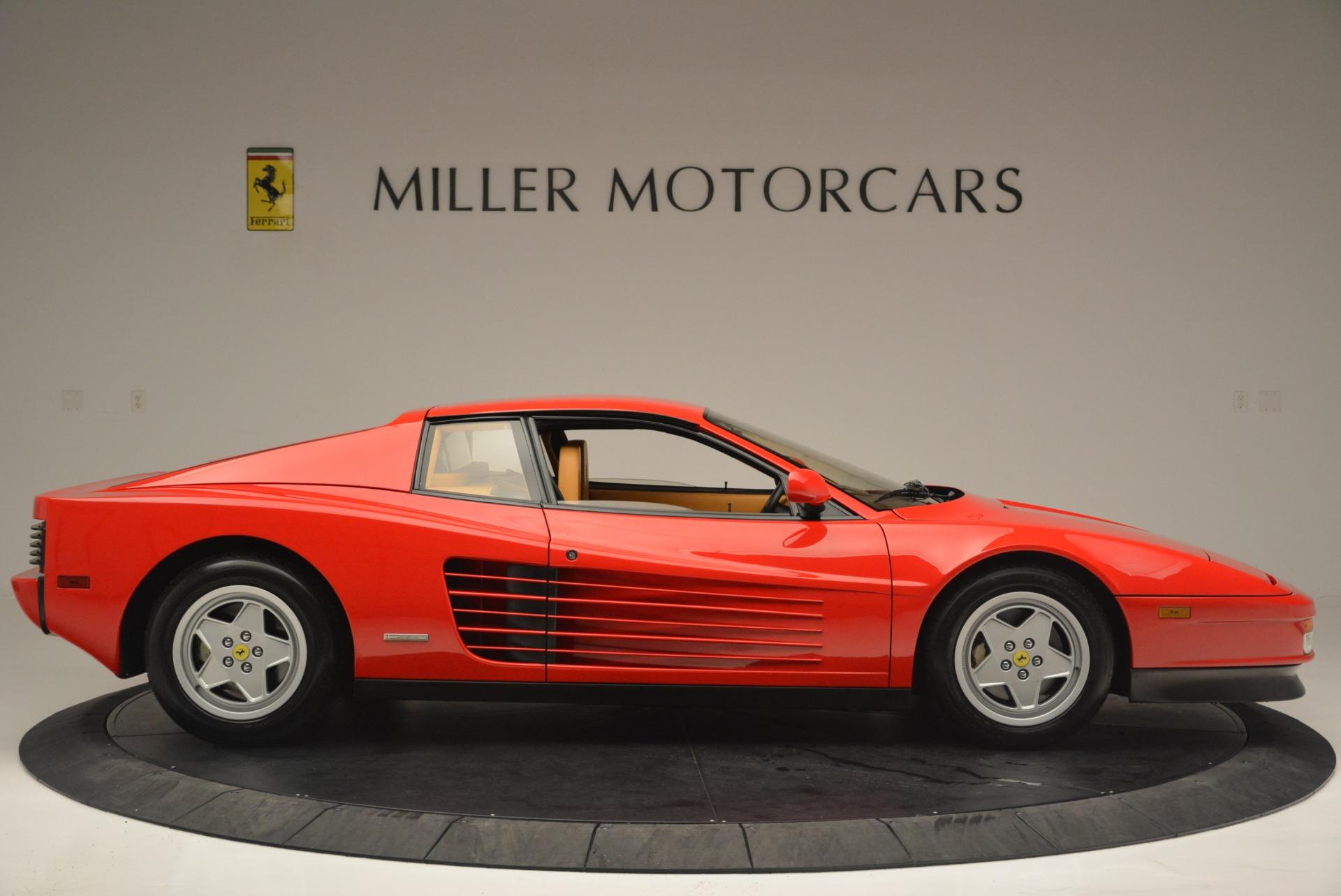 Used 1990 Ferrari Testarossa  For Sale In Westport, CT 2419_p9