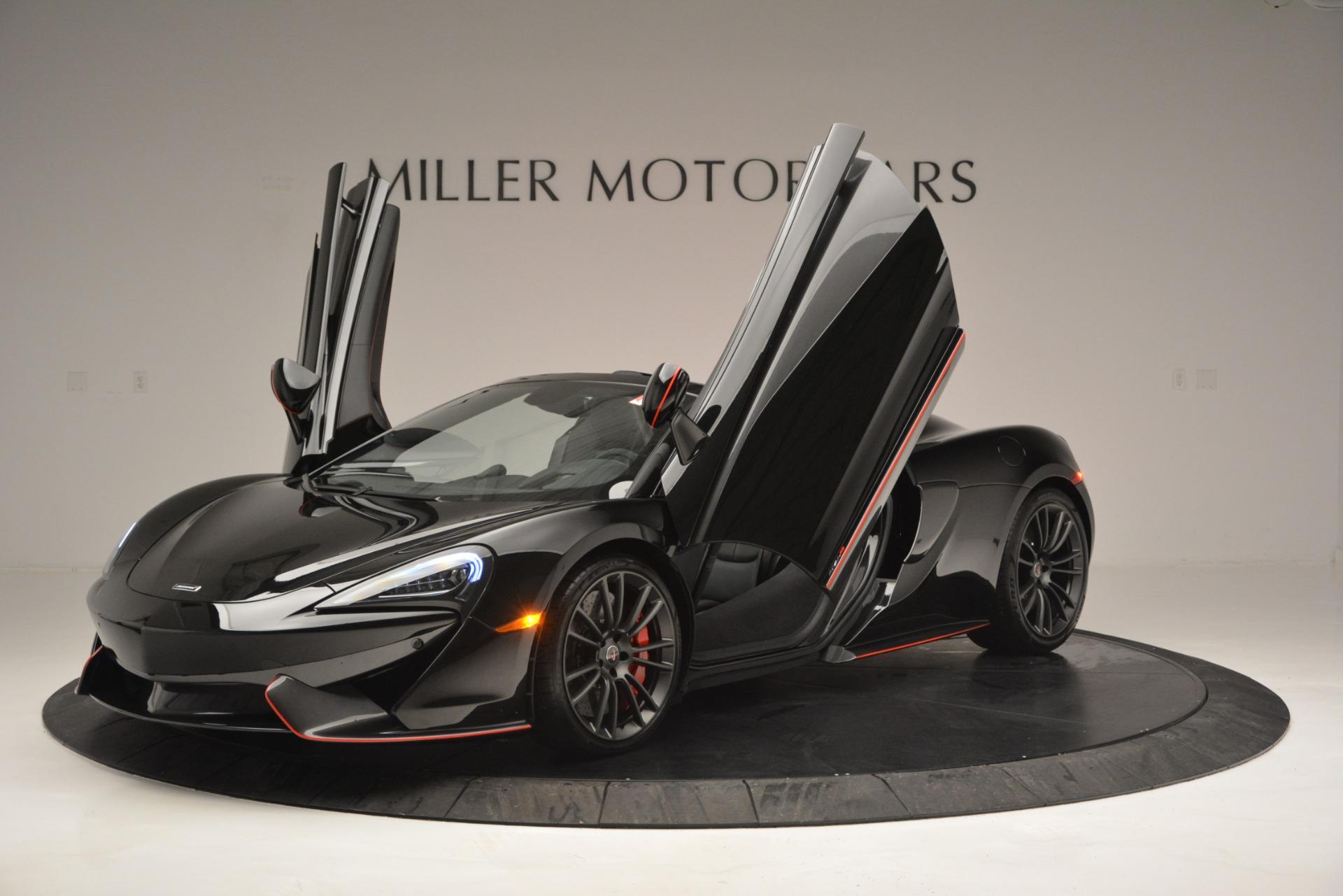 Used 2018 McLaren 570S Spider For Sale In Westport, CT 2420_p14
