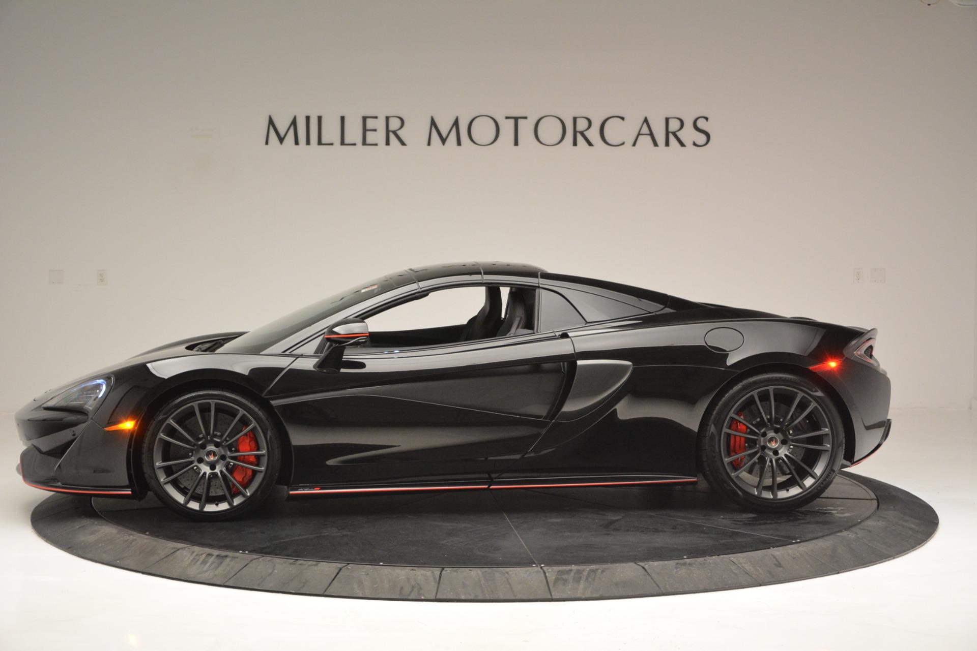 Used 2018 McLaren 570S Spider For Sale In Westport, CT 2420_p16