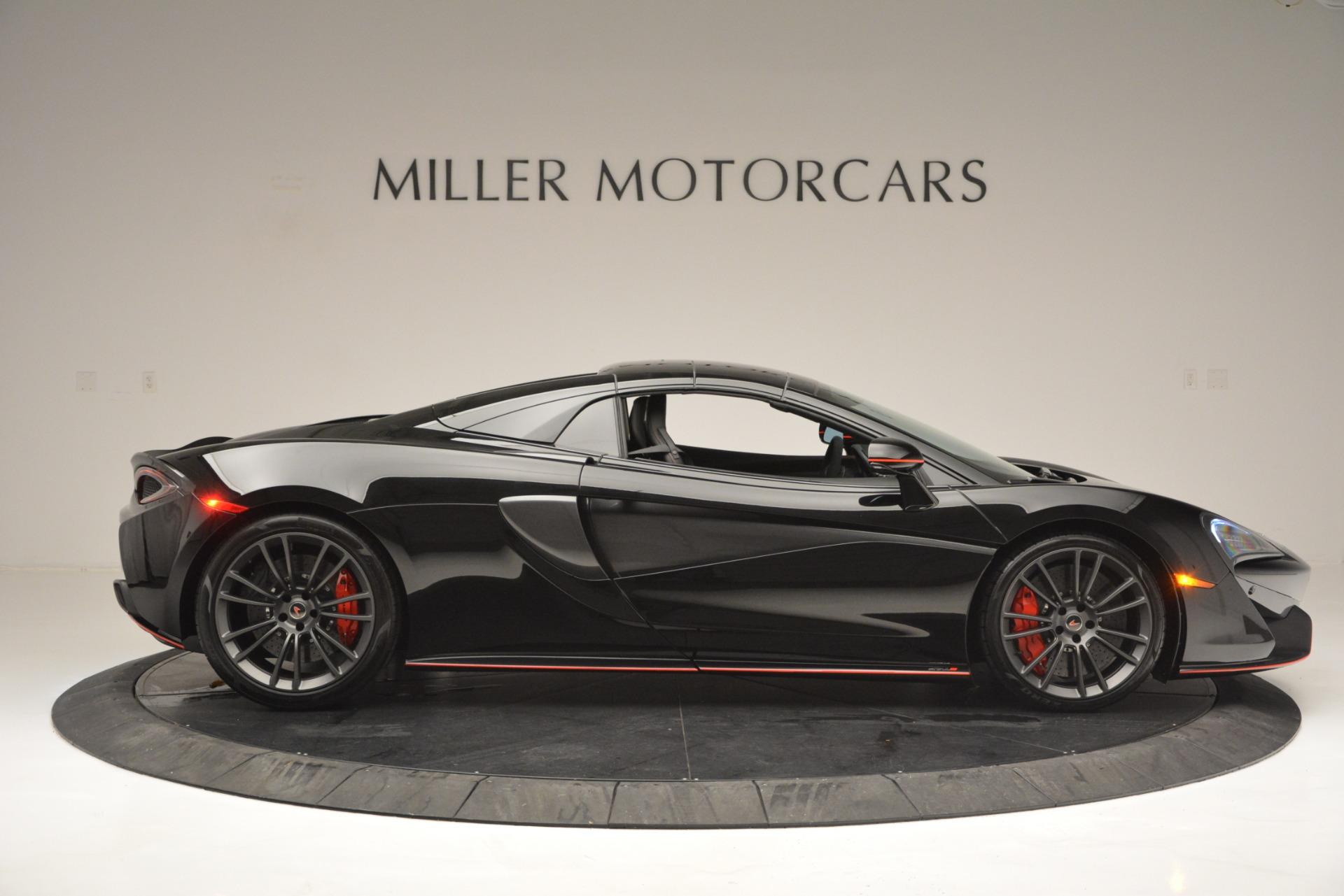 Used 2018 McLaren 570S Spider For Sale In Westport, CT 2420_p20