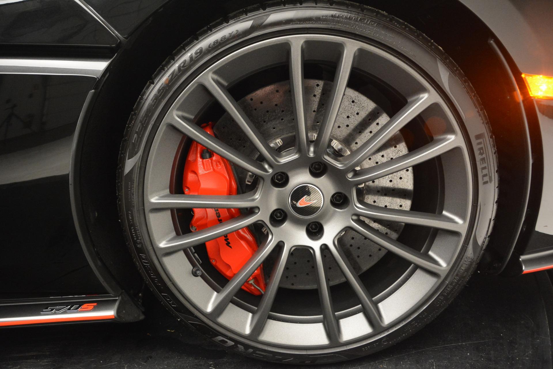 Used 2018 McLaren 570S Spider For Sale In Westport, CT 2420_p29