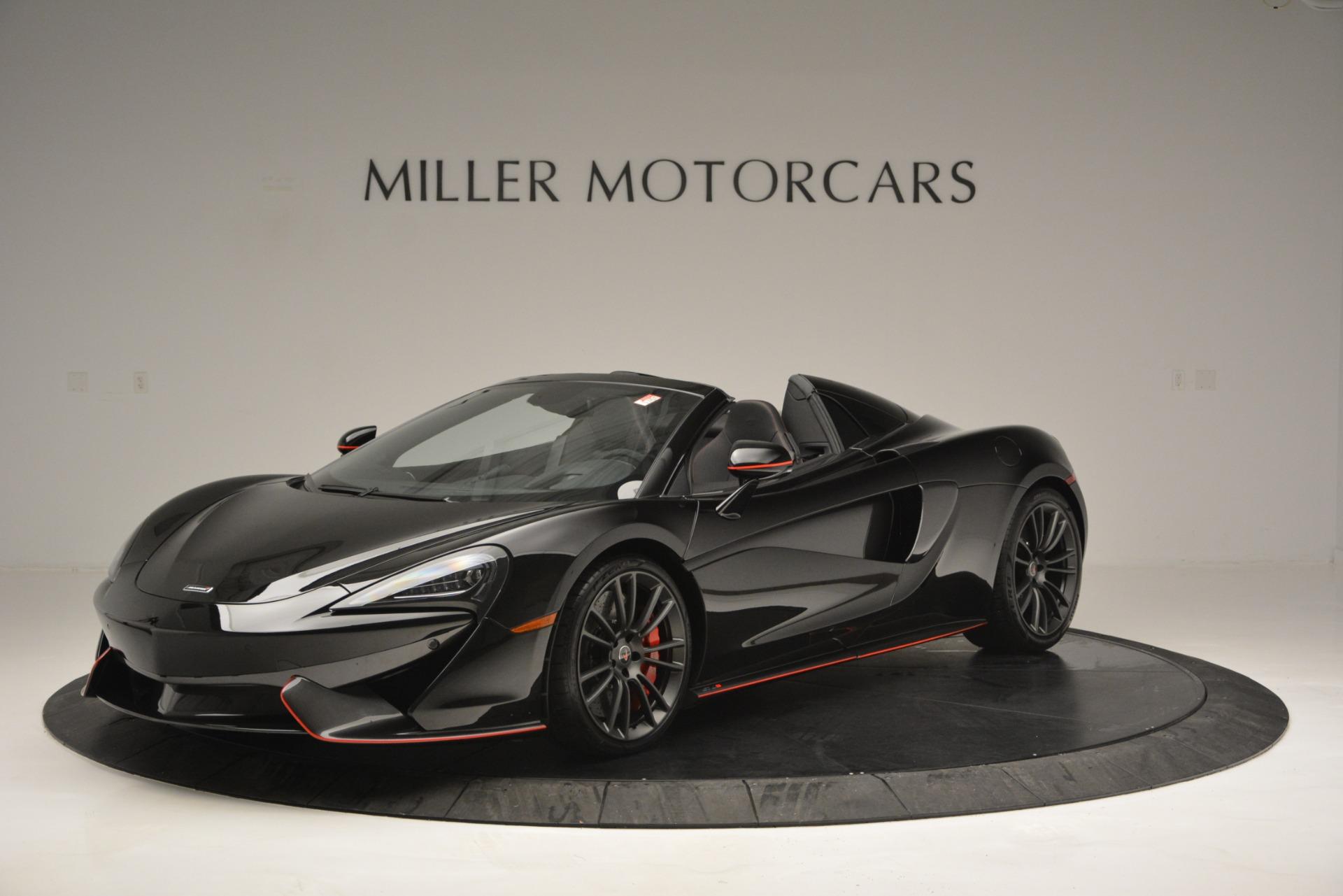 Used 2018 McLaren 570S Spider For Sale In Westport, CT 2420_p2