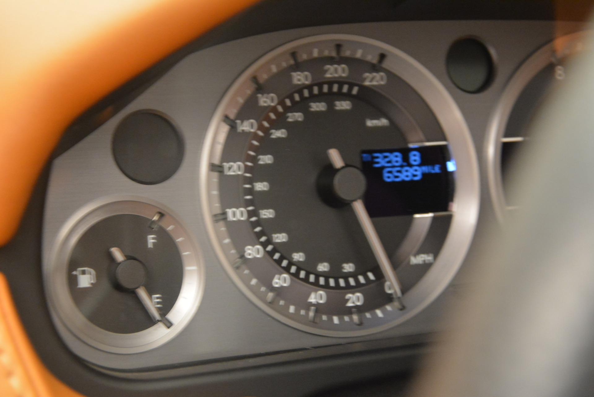 Used 2008 Aston Martin V8 Vantage Roadster For Sale In Westport, CT 2422_p20