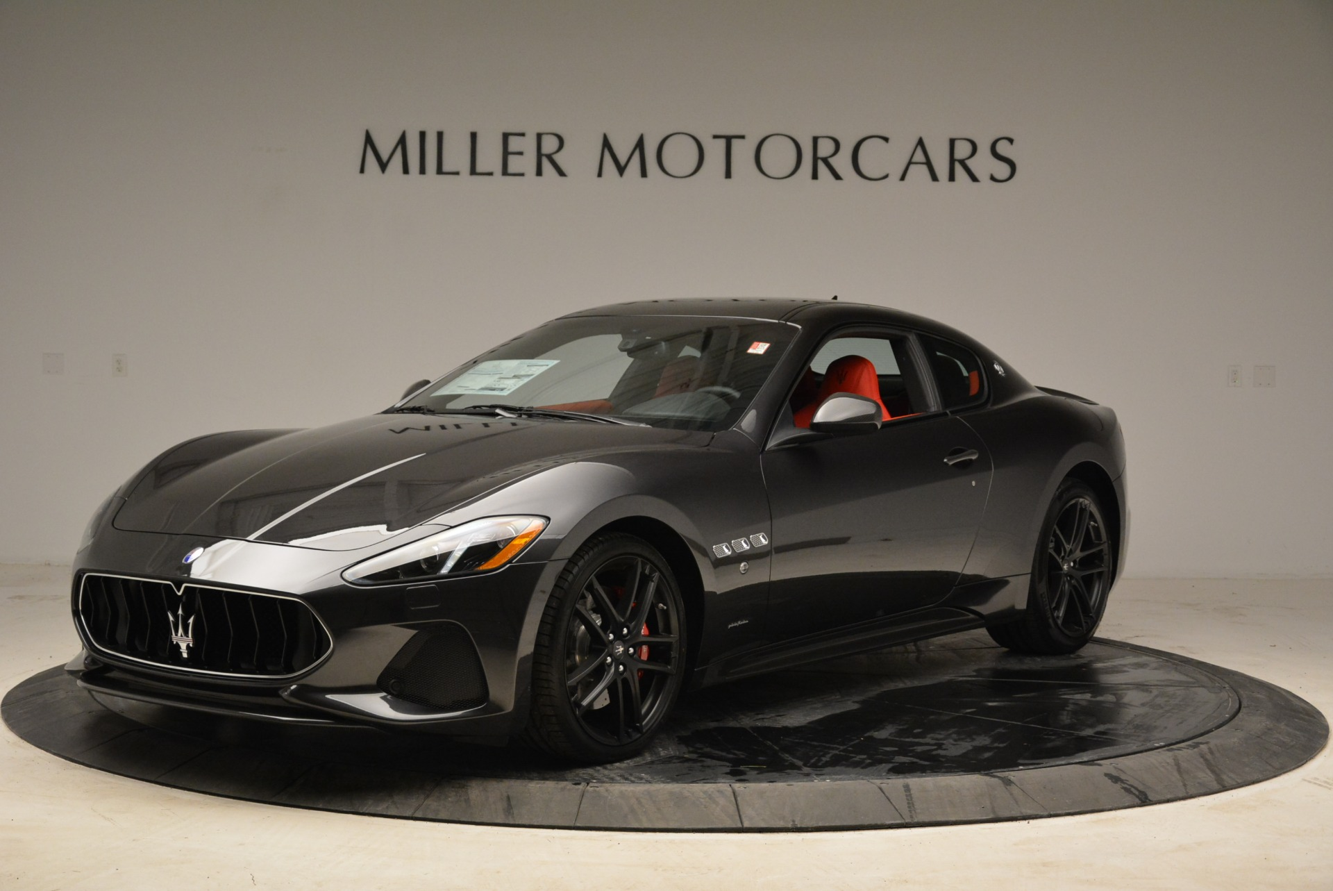New 2018 Maserati GranTurismo Sport For Sale In Westport, CT 2426_p2