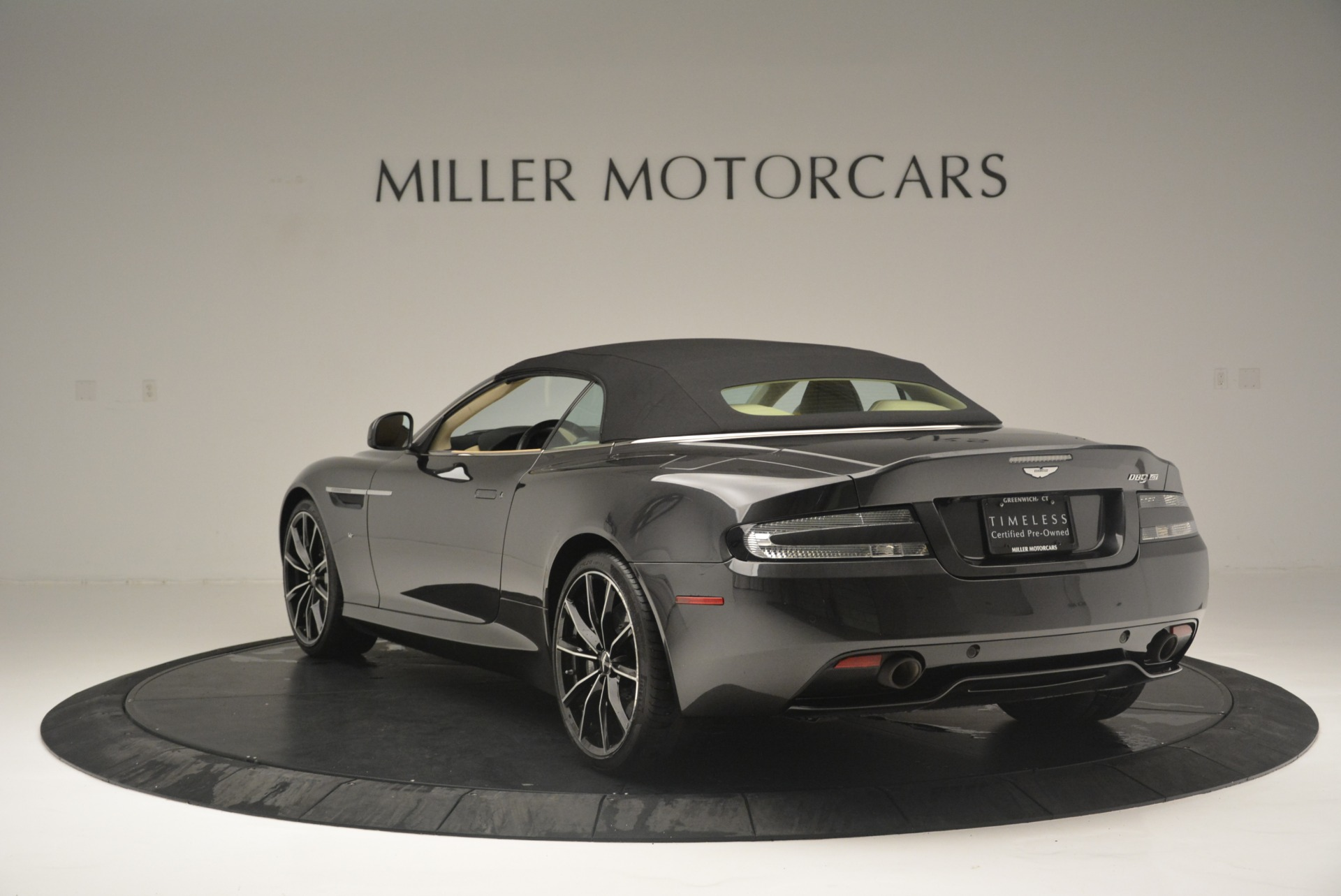 Used 2016 Aston Martin DB9 GT Volante For Sale In Westport, CT 2429_p17