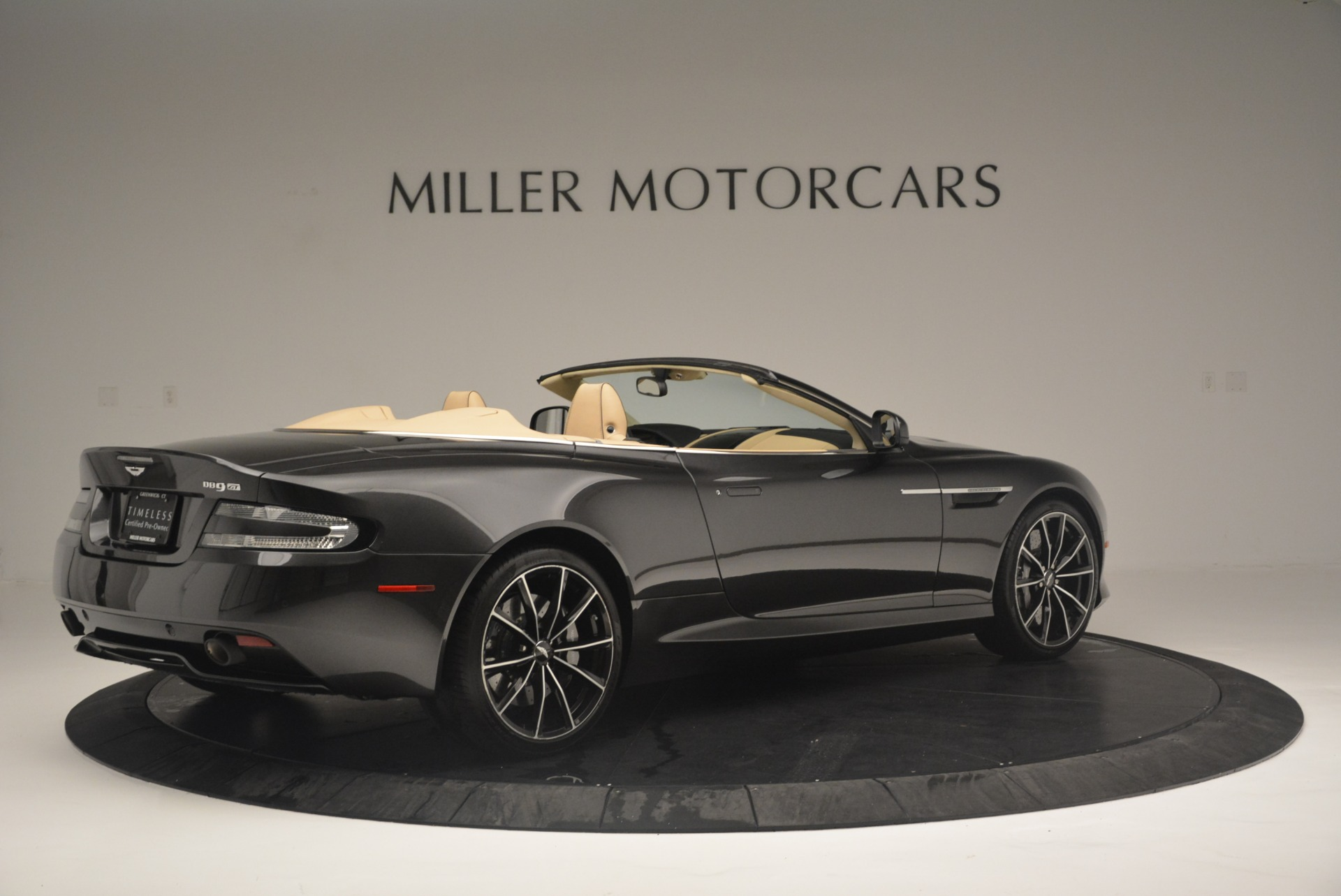 Used 2016 Aston Martin DB9 GT Volante For Sale In Westport, CT 2429_p8
