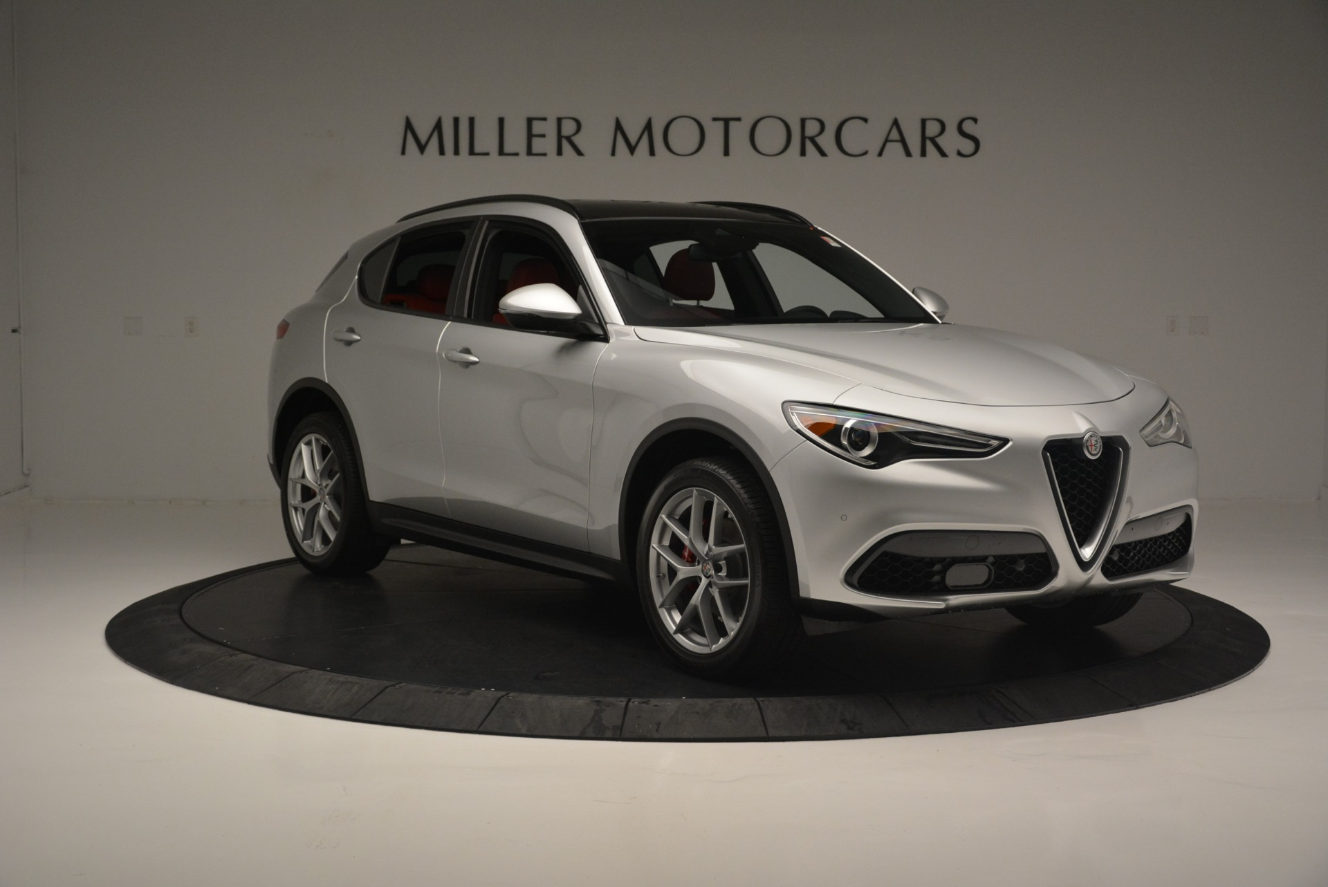 New 2018 Alfa Romeo Stelvio Ti Sport Q4 For Sale In Westport, CT 2434_p12