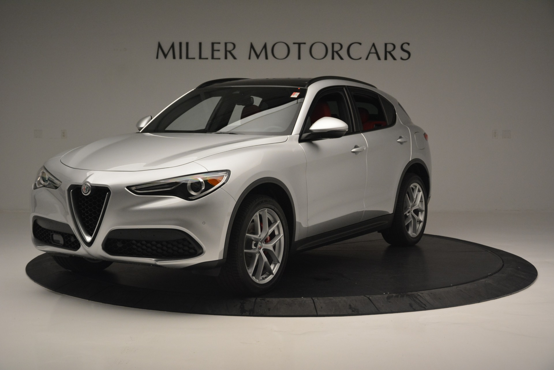 New 2018 Alfa Romeo Stelvio Ti Sport Q4 For Sale In Westport, CT 2434_p2