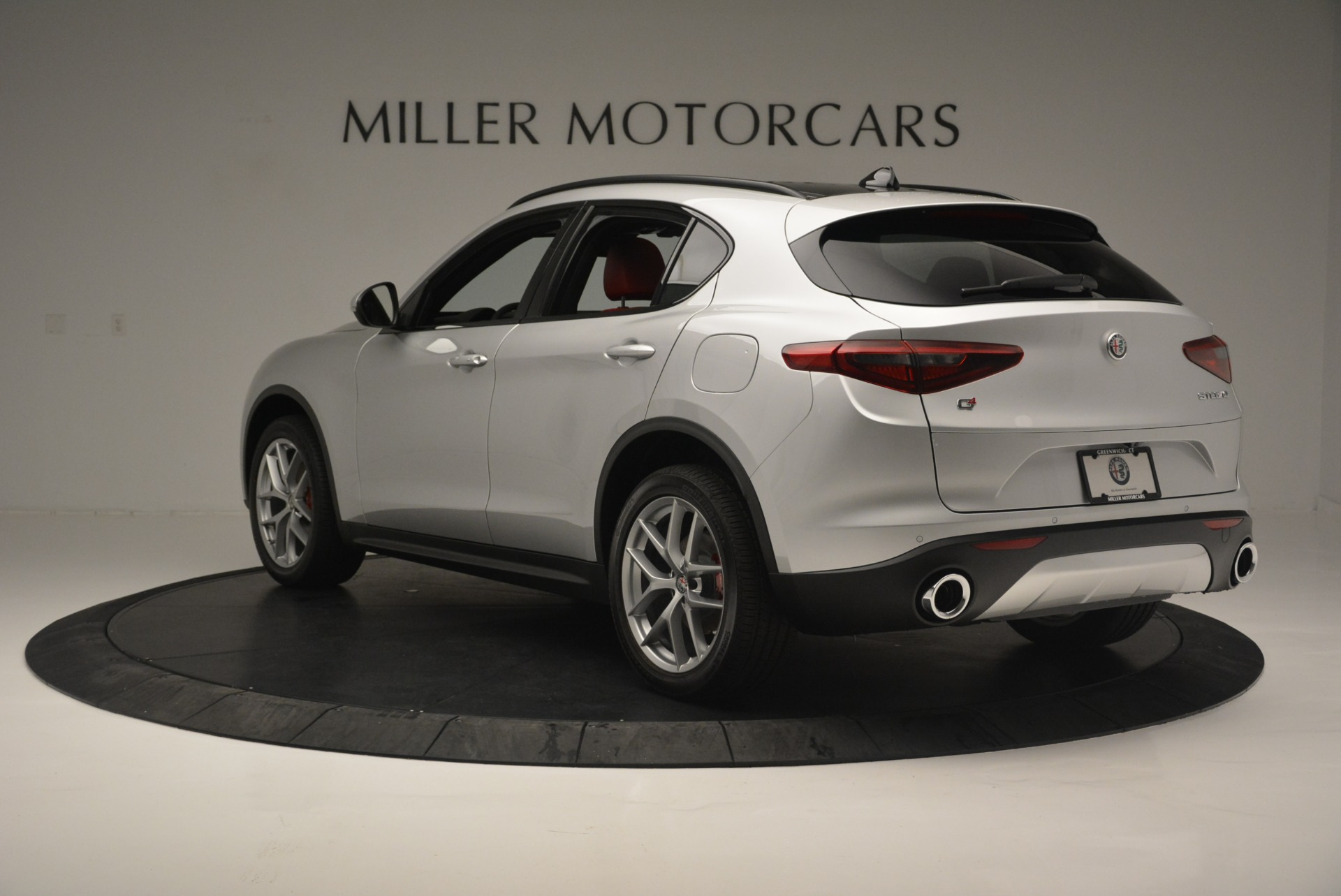 New 2018 Alfa Romeo Stelvio Ti Sport Q4 For Sale In Westport, CT 2434_p5