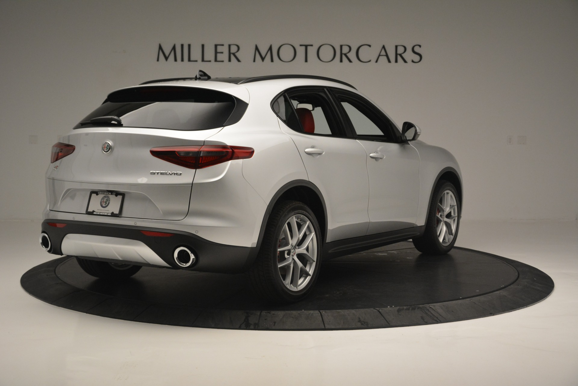 New 2018 Alfa Romeo Stelvio Ti Sport Q4 For Sale In Westport, CT 2434_p8