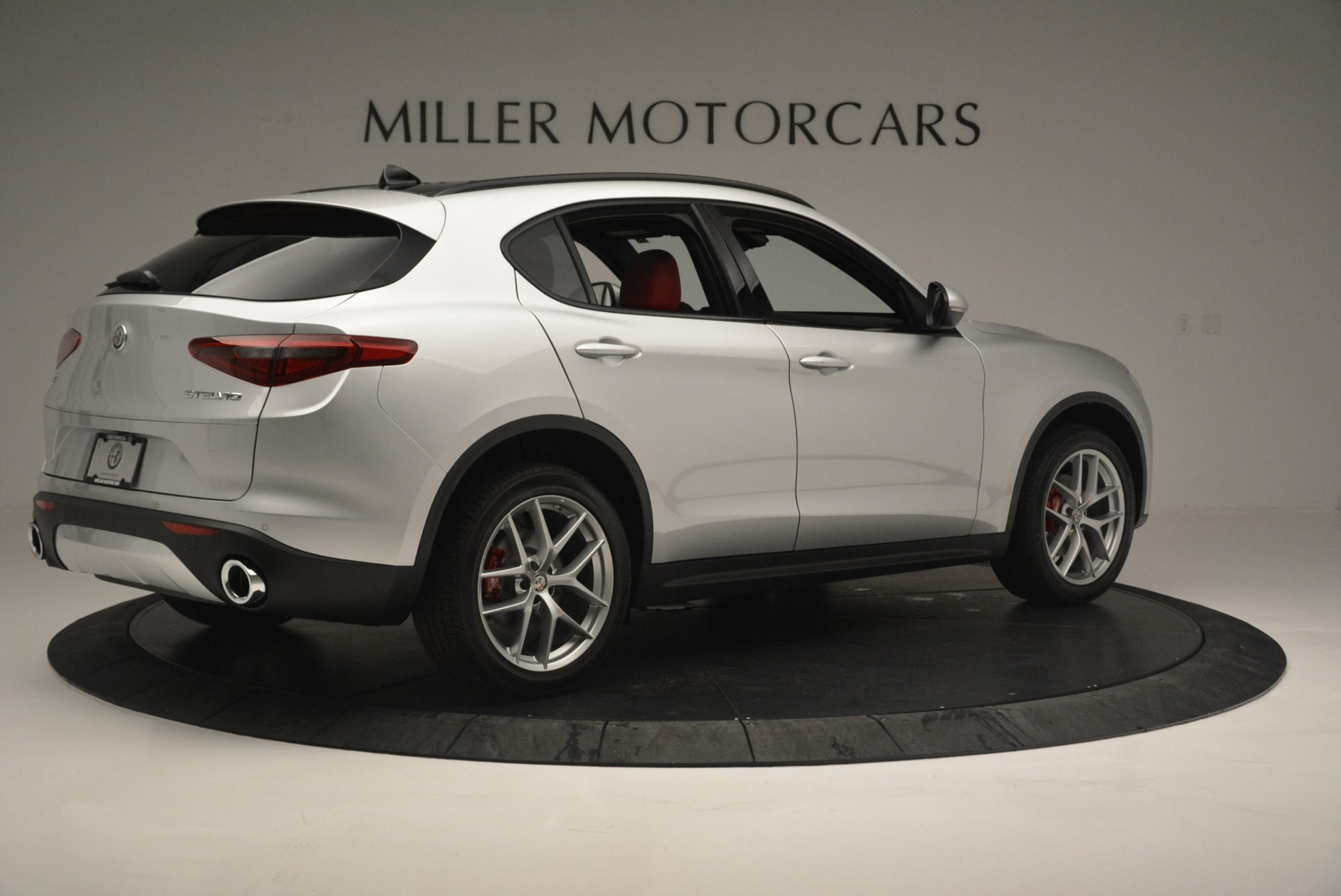 New 2018 Alfa Romeo Stelvio Ti Sport Q4 For Sale In Westport, CT 2434_p9