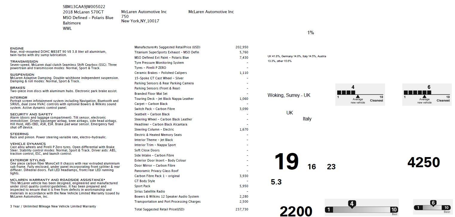 New 2018 McLaren 570GT  For Sale In Westport, CT 2441_p7