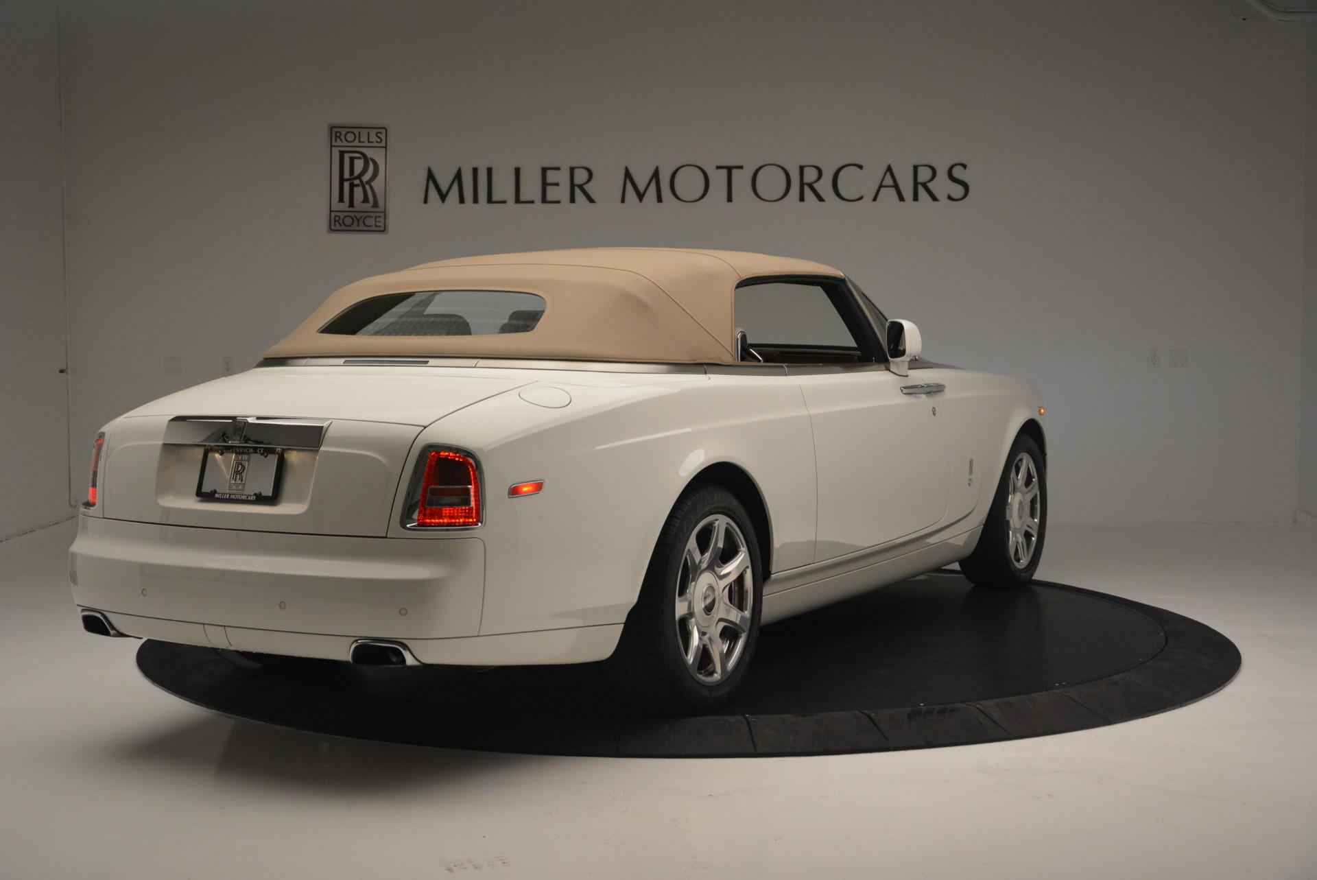 Used 2013 Rolls-Royce Phantom Drophead Coupe  For Sale In Westport, CT 2444_p13