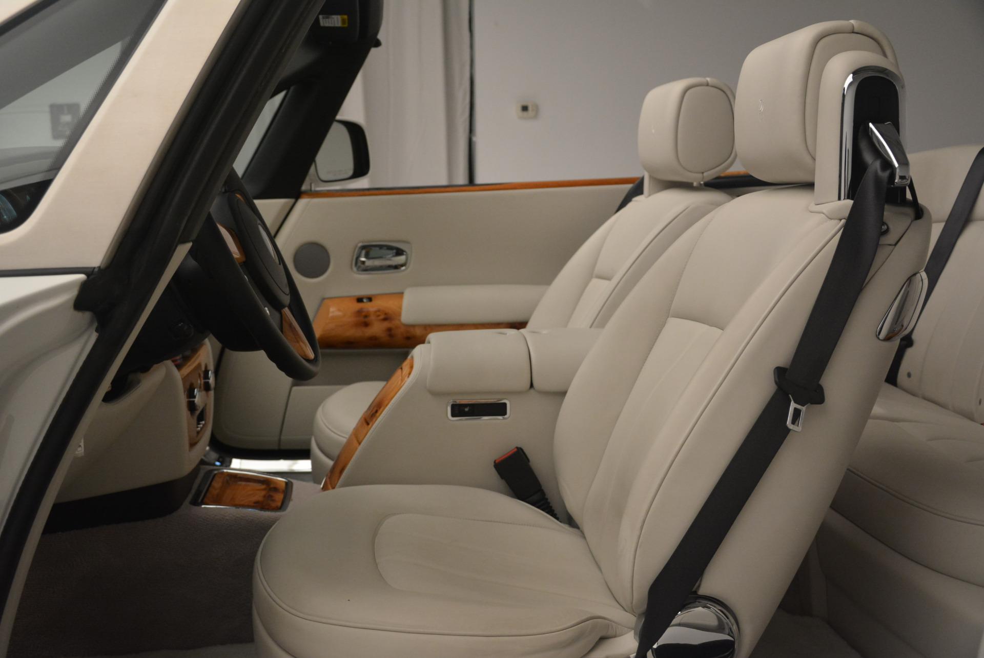 Used 2013 Rolls-Royce Phantom Drophead Coupe  For Sale In Westport, CT 2444_p26