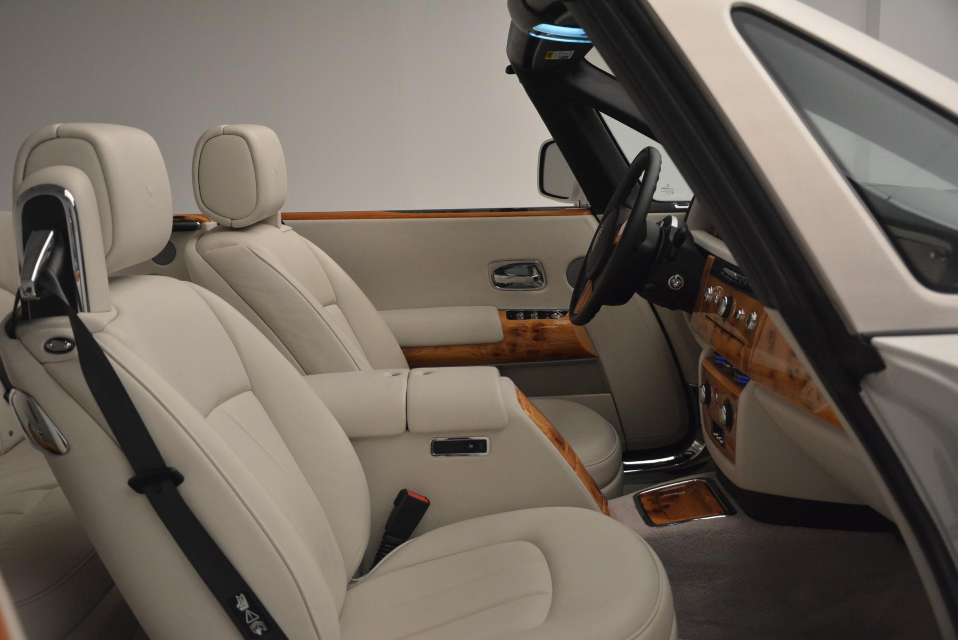 Used 2013 Rolls-Royce Phantom Drophead Coupe  For Sale In Westport, CT 2444_p27