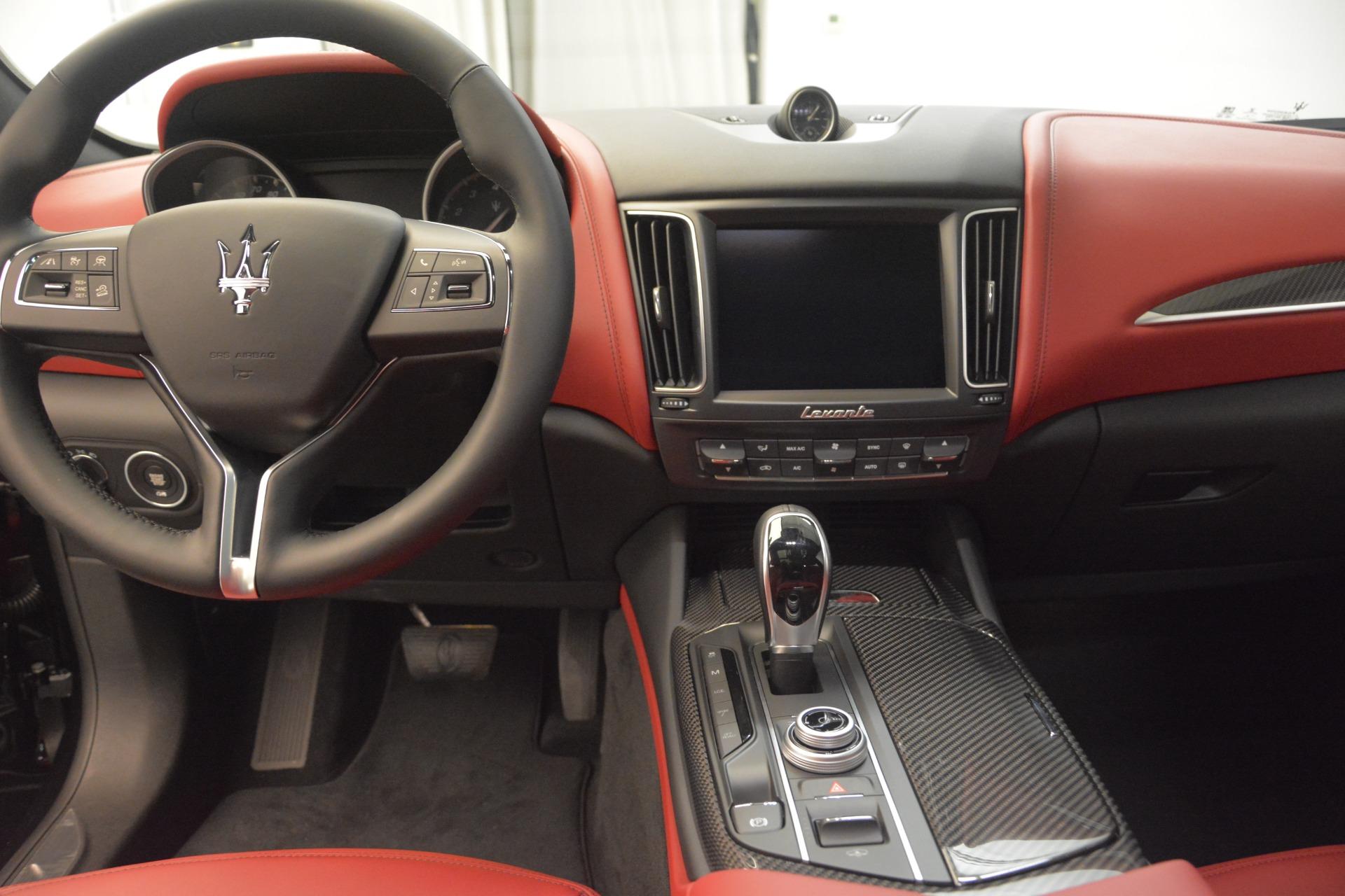 New 2018 Maserati Levante Q4 GranLusso For Sale In Westport, CT 2451_p16