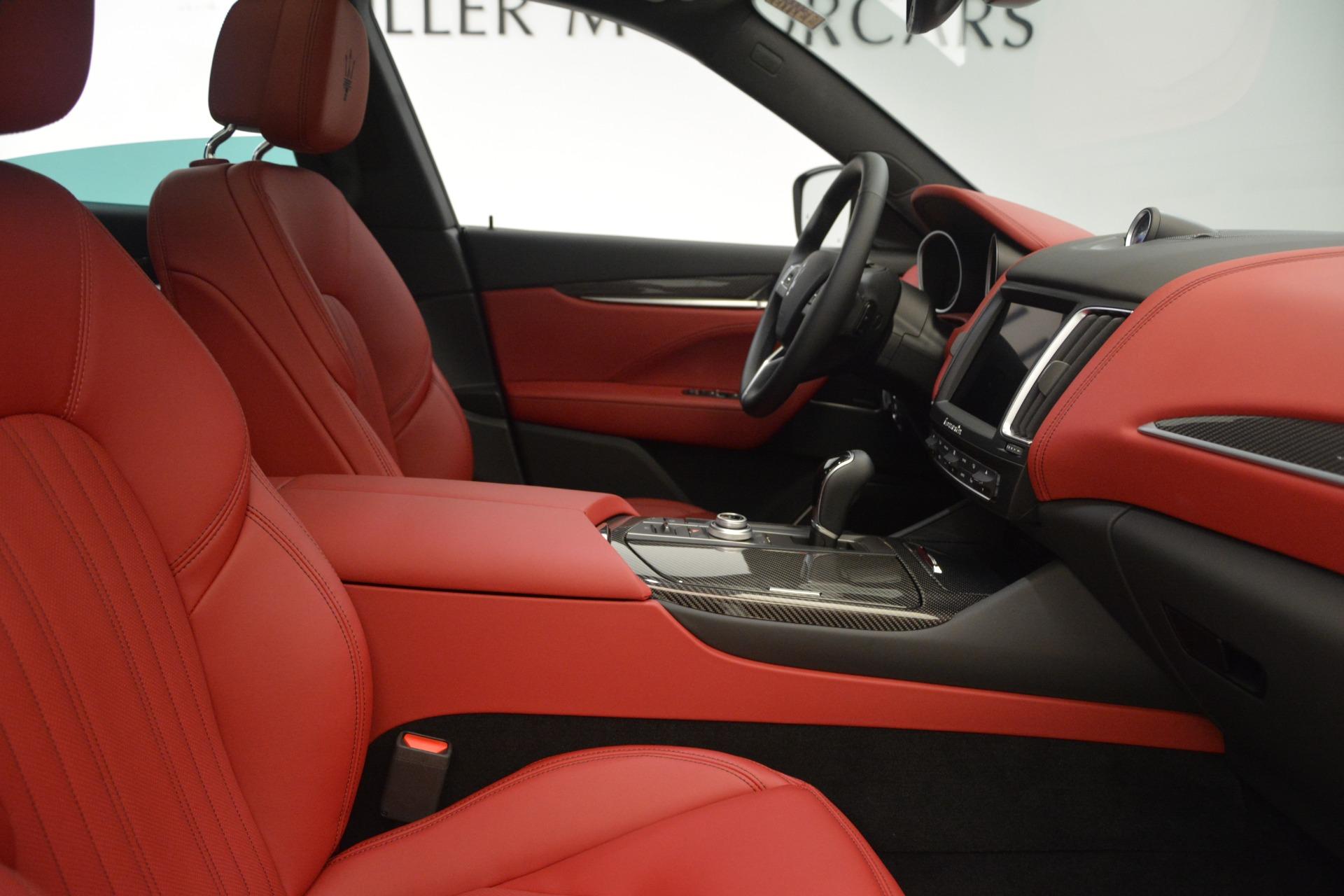 New 2018 Maserati Levante Q4 GranLusso For Sale In Westport, CT 2451_p21