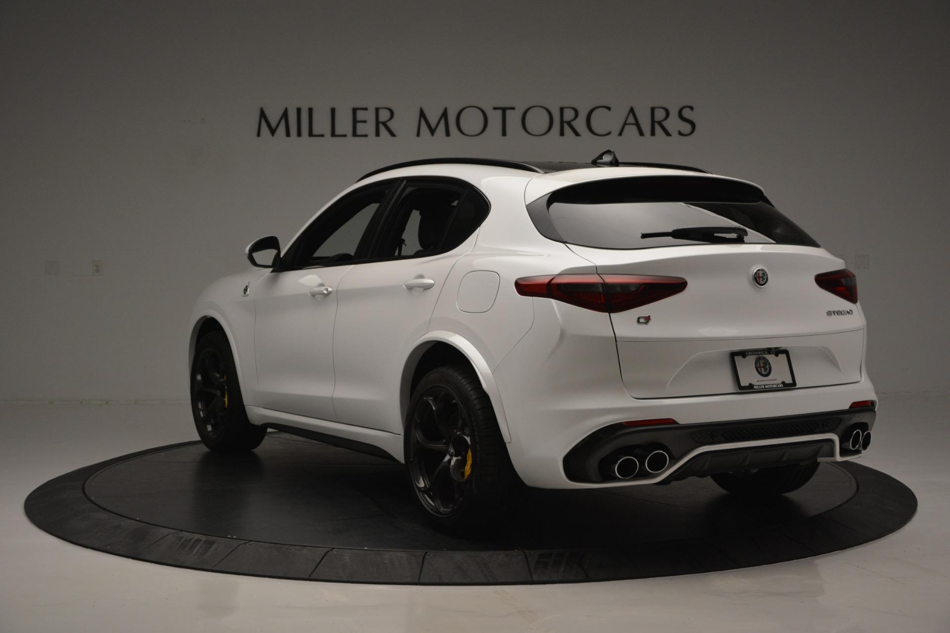 New 2018 Alfa Romeo Stelvio Quadrifoglio Quadrifoglio For Sale In Westport, CT 2456_p5